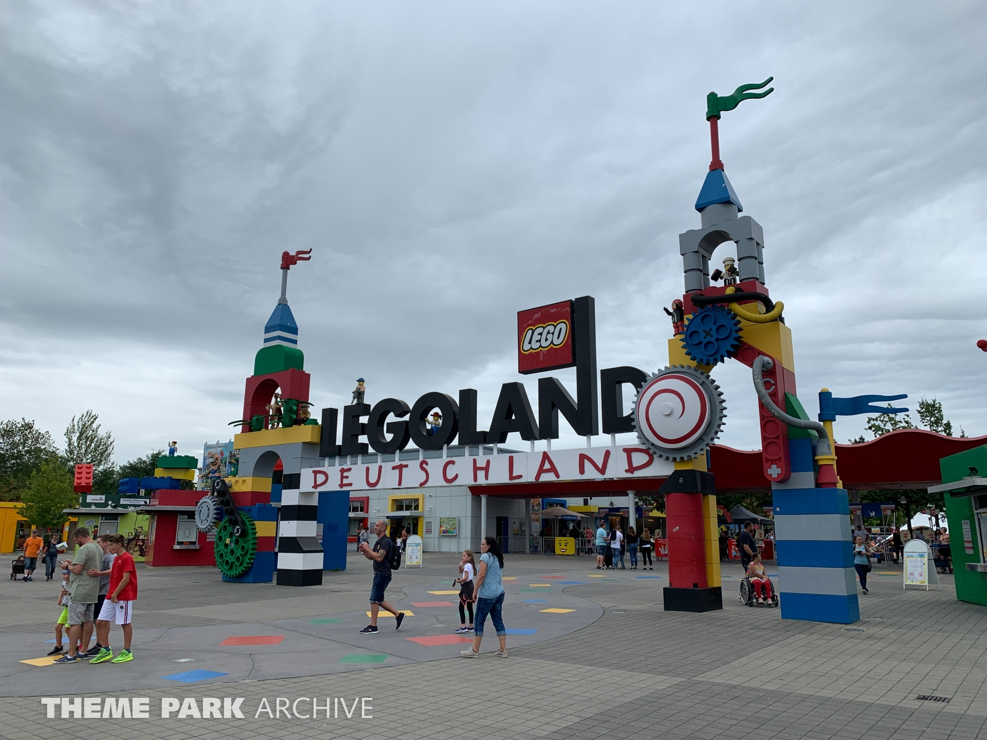 Entrance at LEGOLAND Deutschland