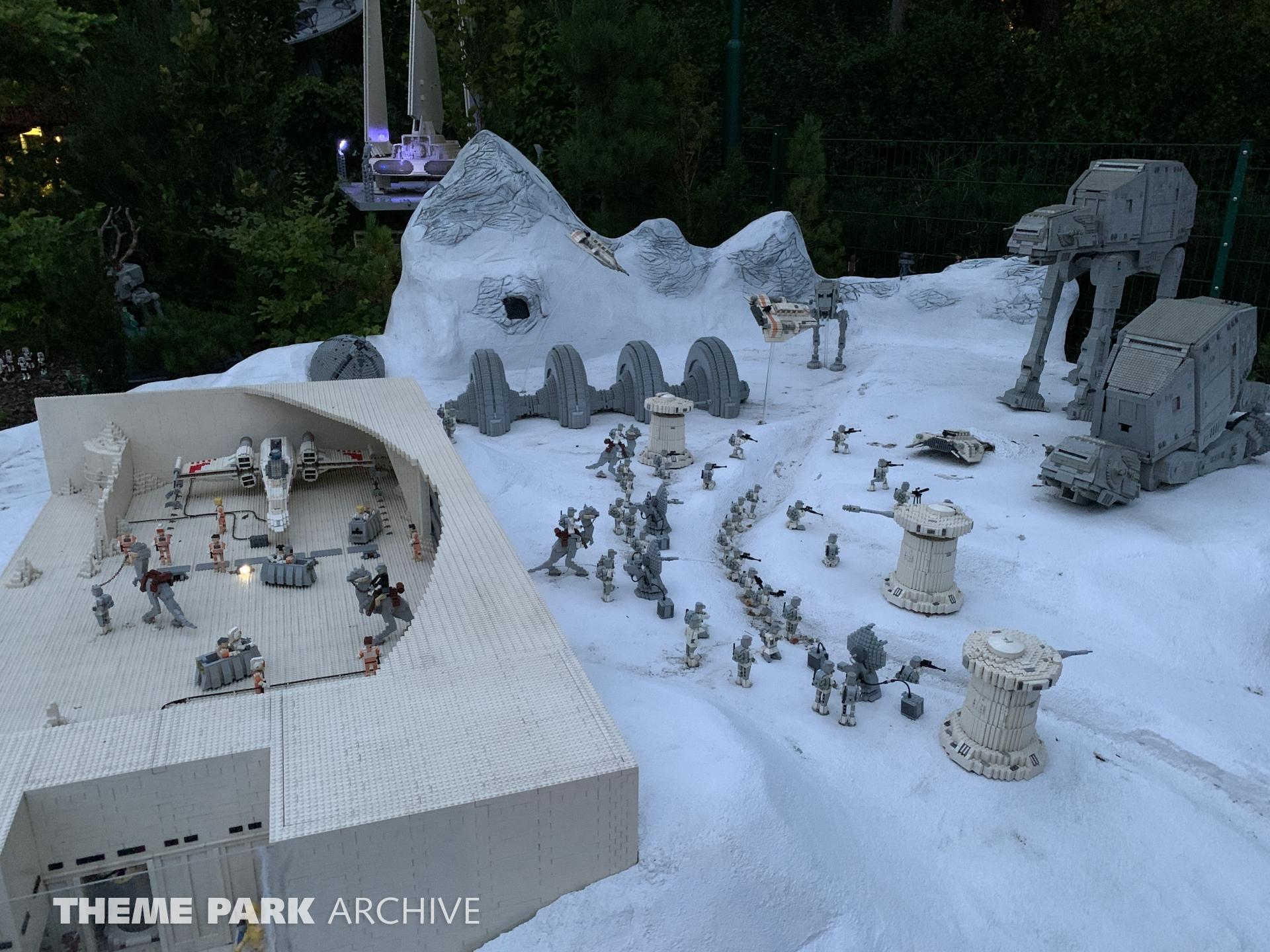 Star Wars Miniland at LEGOLAND Deutschland