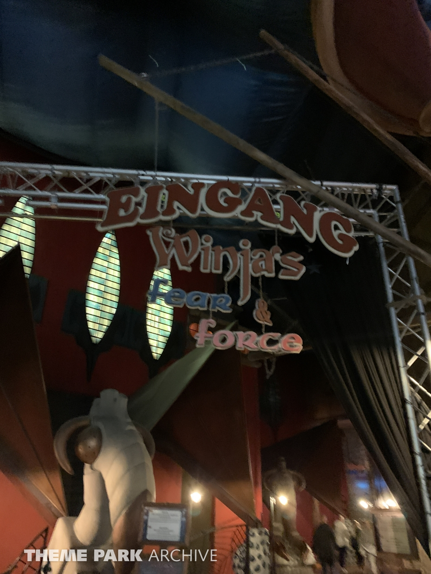 Winjas Fear and Force at Phantasialand