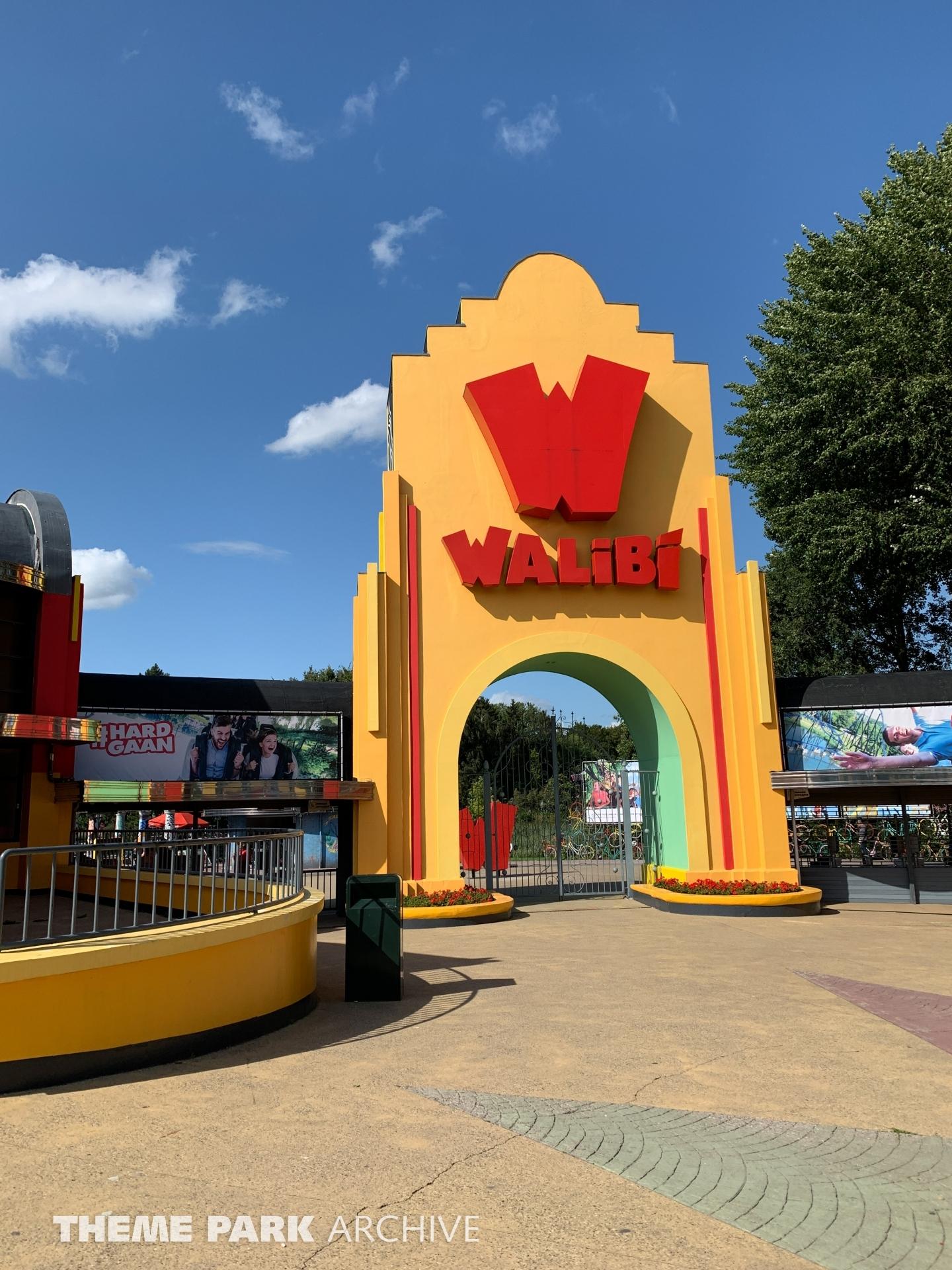 Entrance at Walibi Holland
