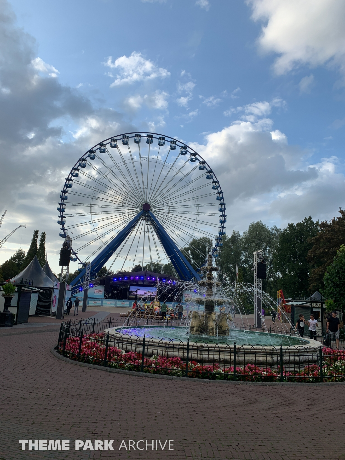 La Grande Roue at Walibi Holland