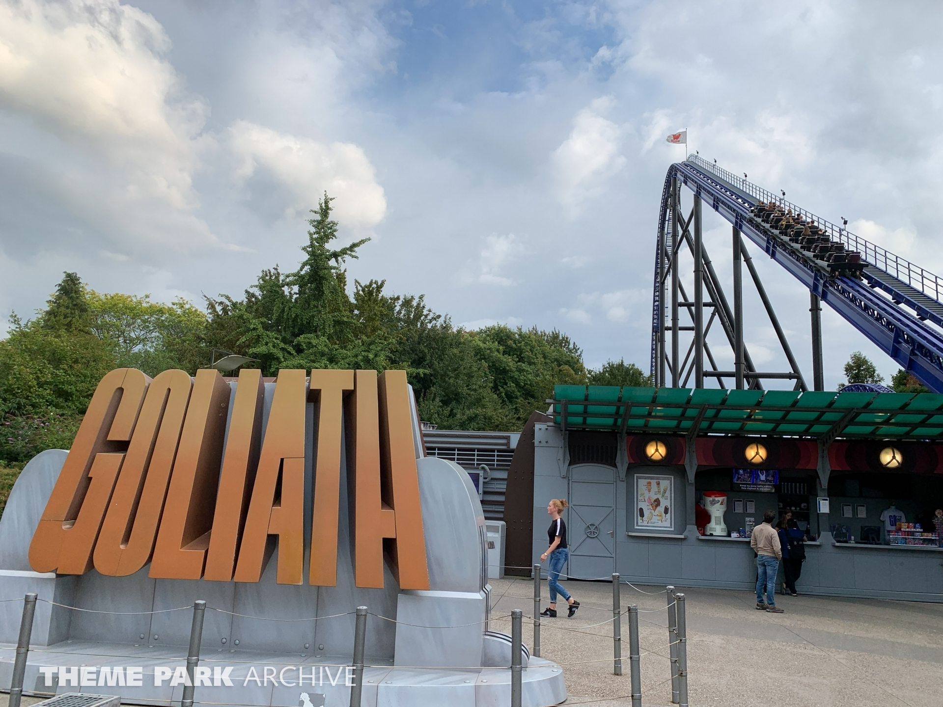 Goliath at Walibi Holland