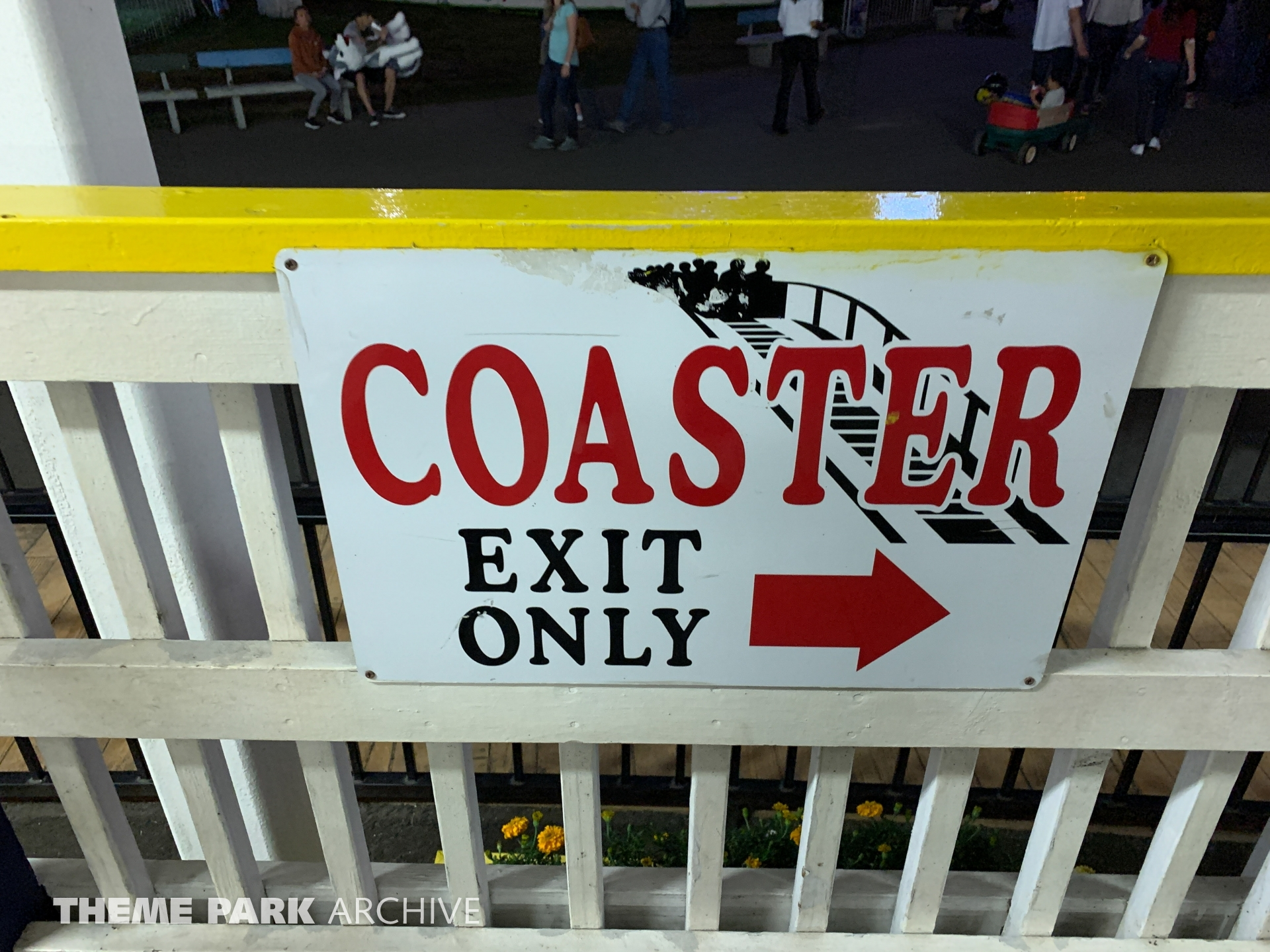 Classic Coaster at Washington State Fair