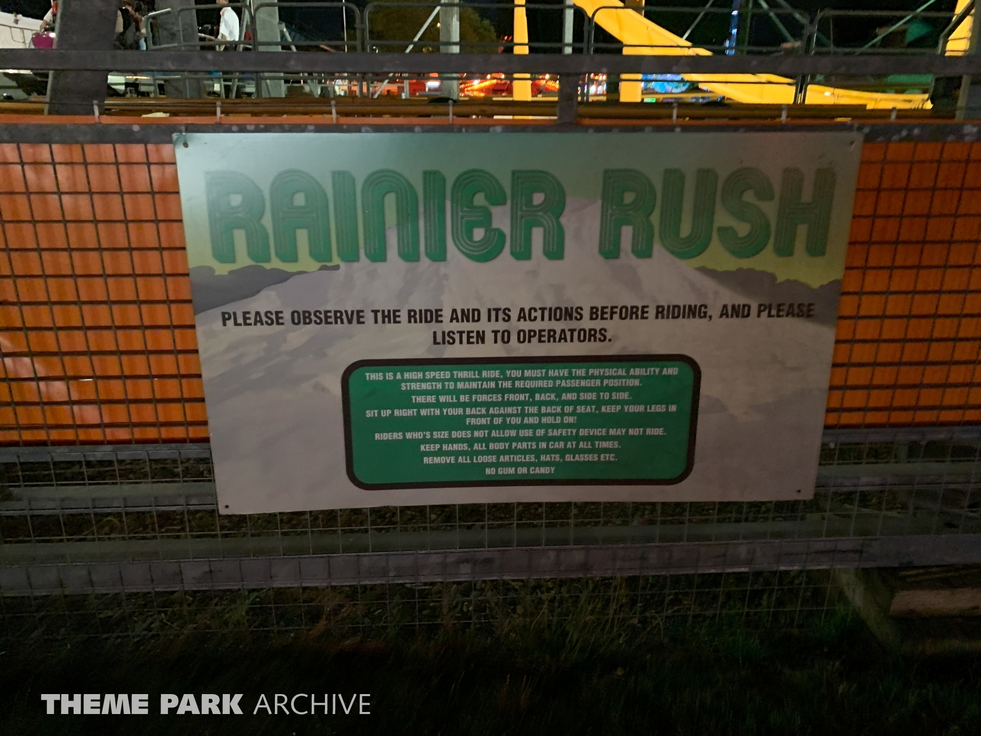 Rainier Rush at Washington State Fair