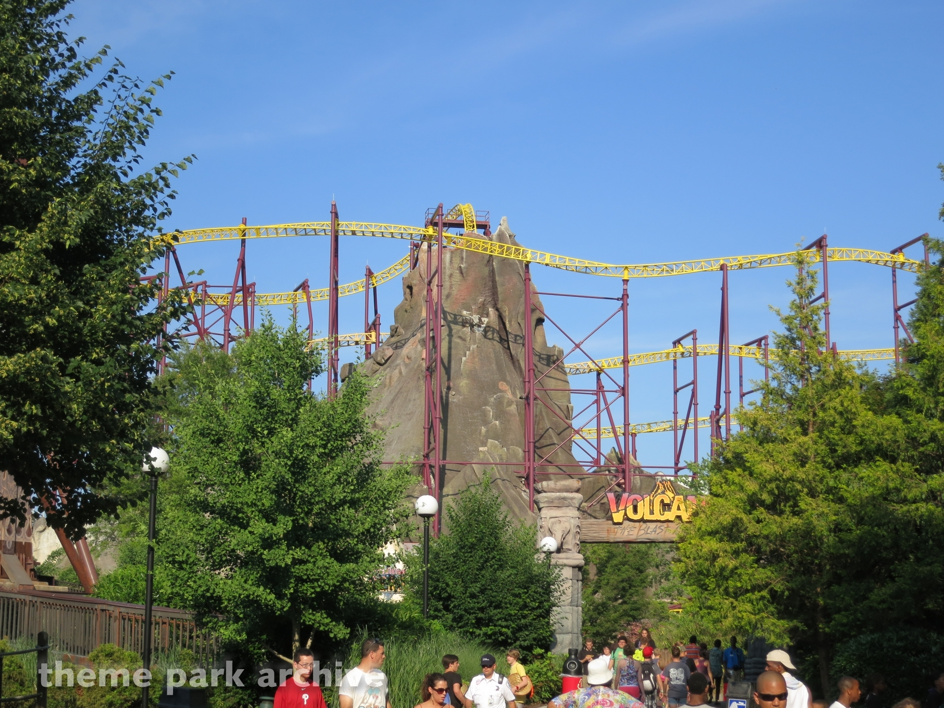 Volcano: The Blast Coaster at Kings Dominion