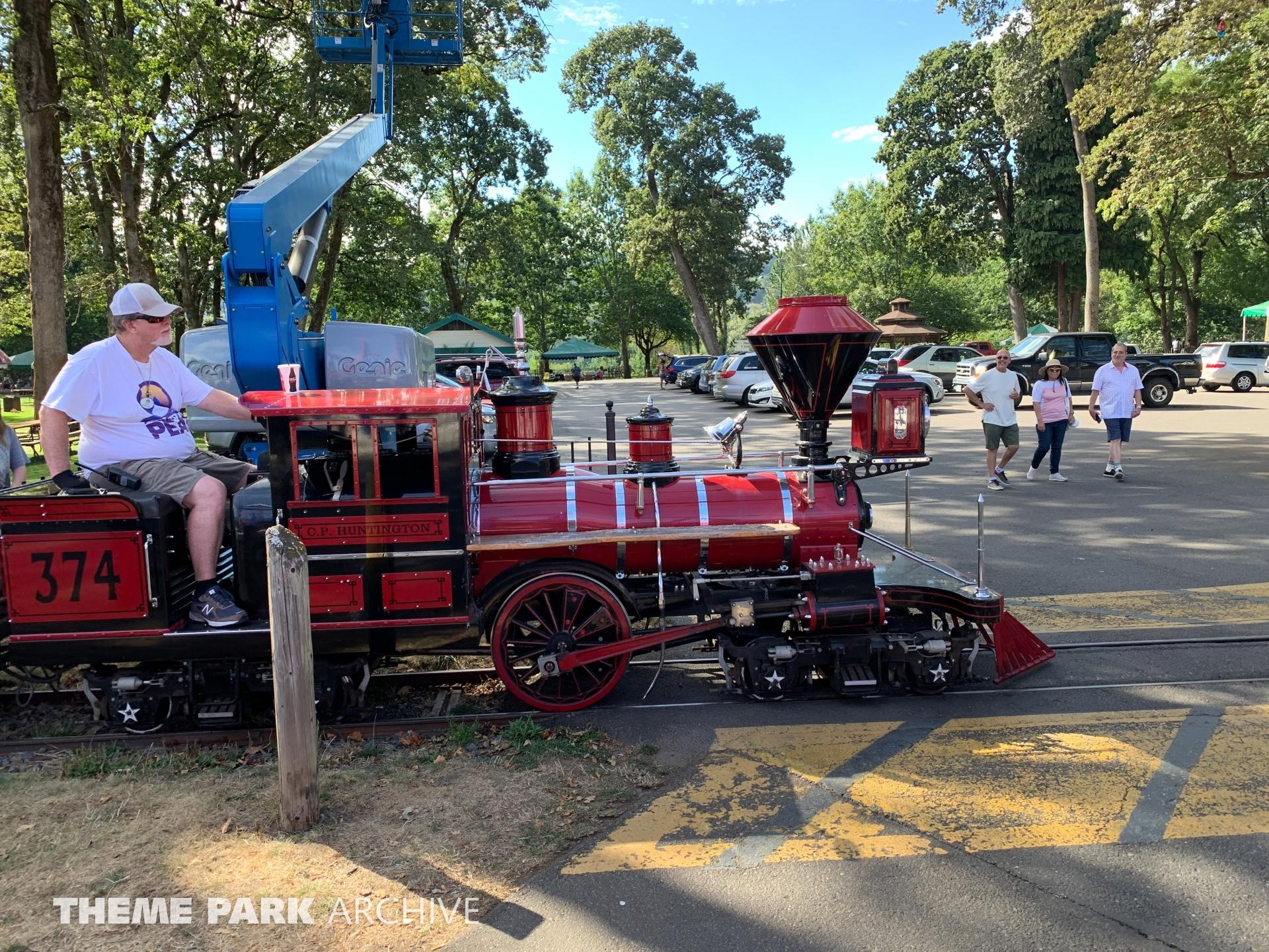 Oaks Park Train at Oaks Park