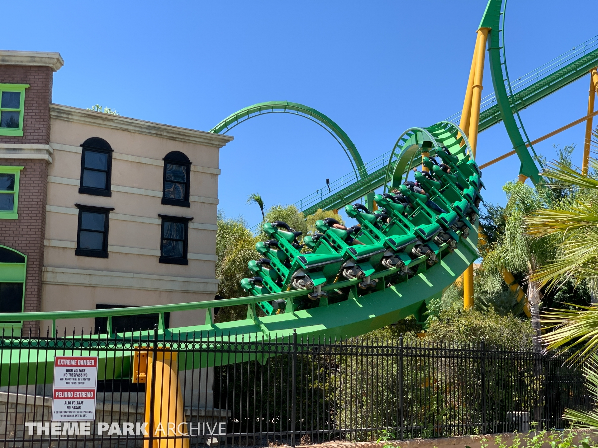 Riddler's Revenge at Six Flags Magic Mountain