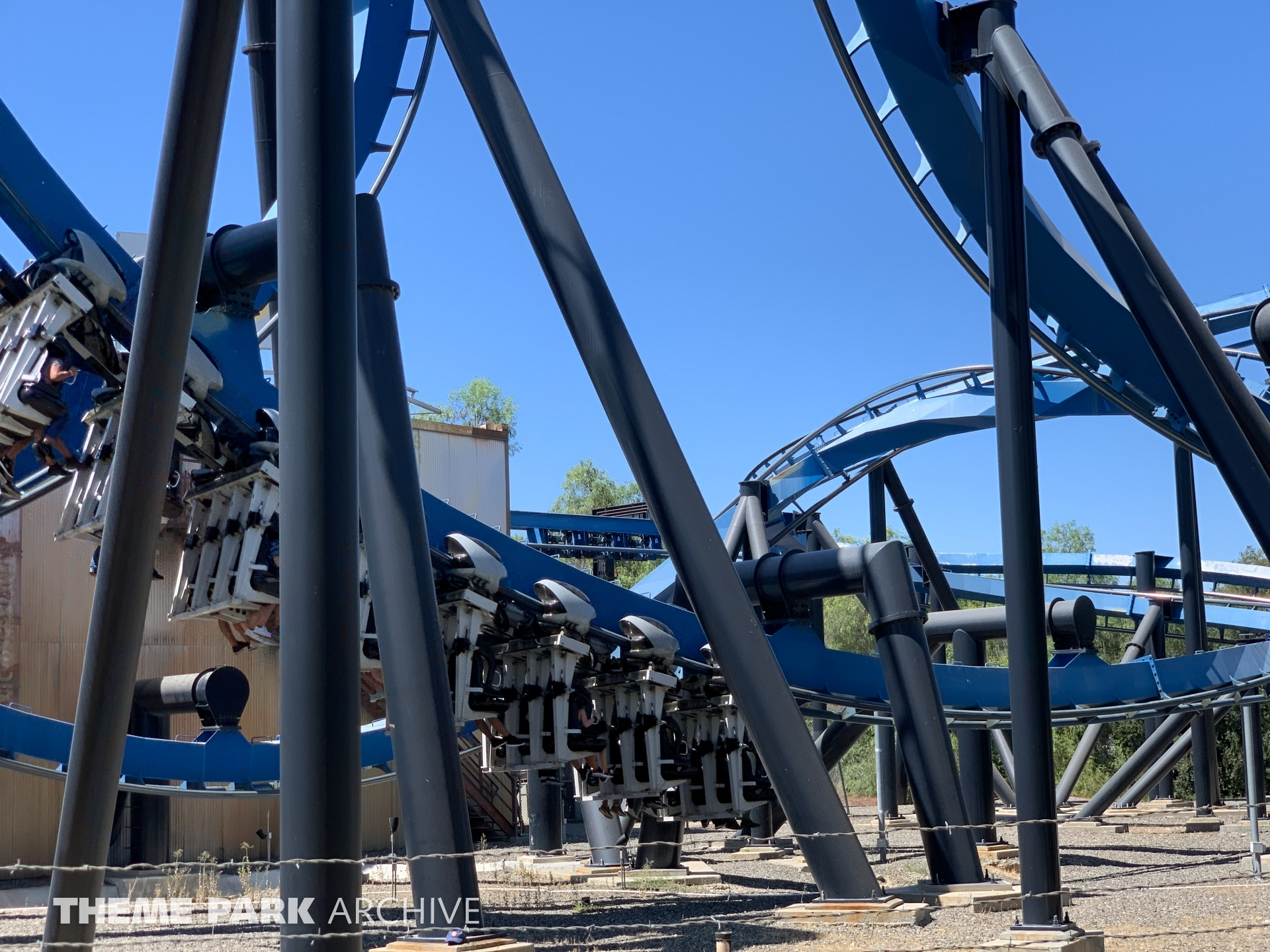 Batman The Ride at Six Flags Magic Mountain