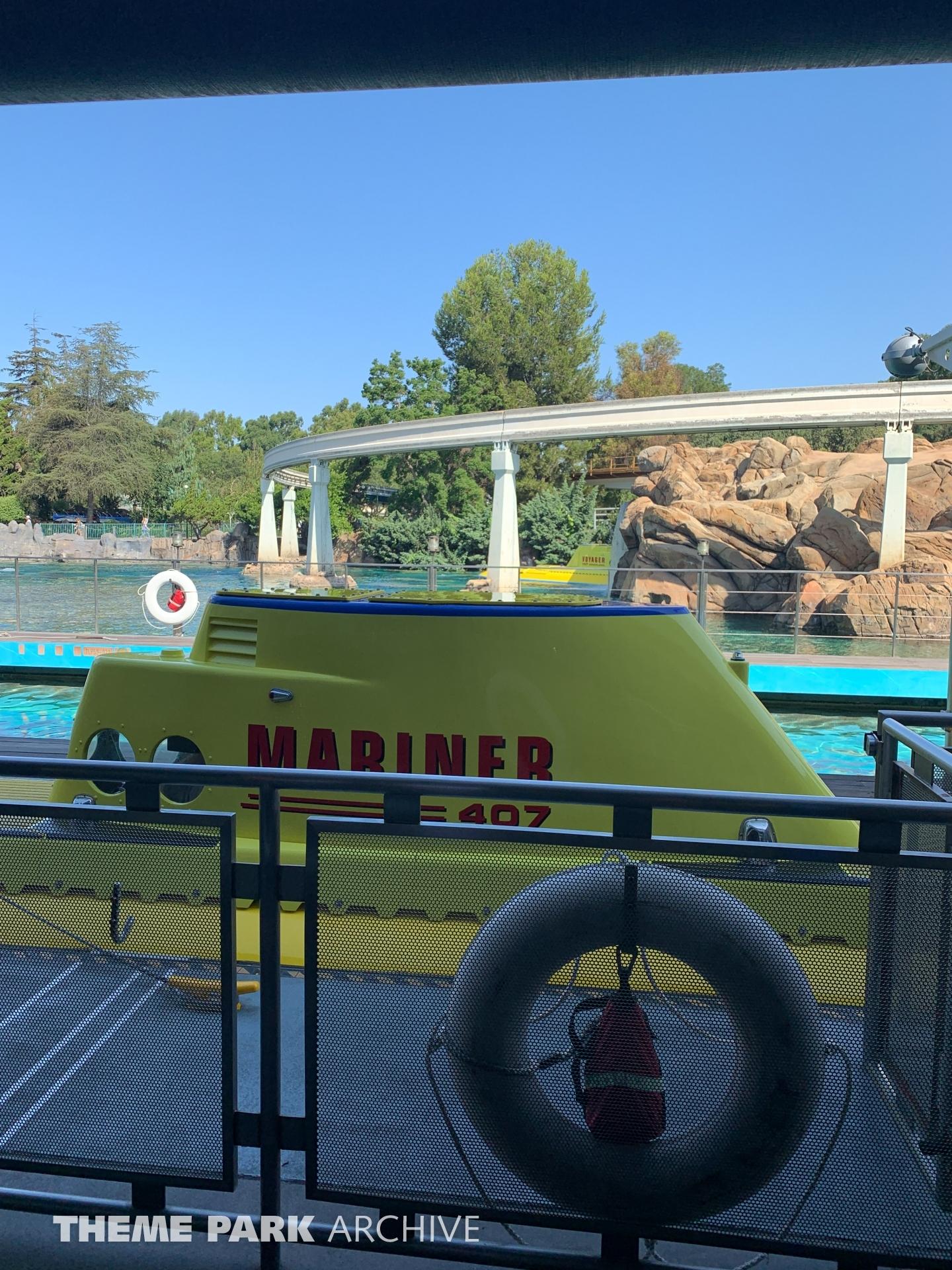 Finding Nemo Submarine Voyage at Disneyland
