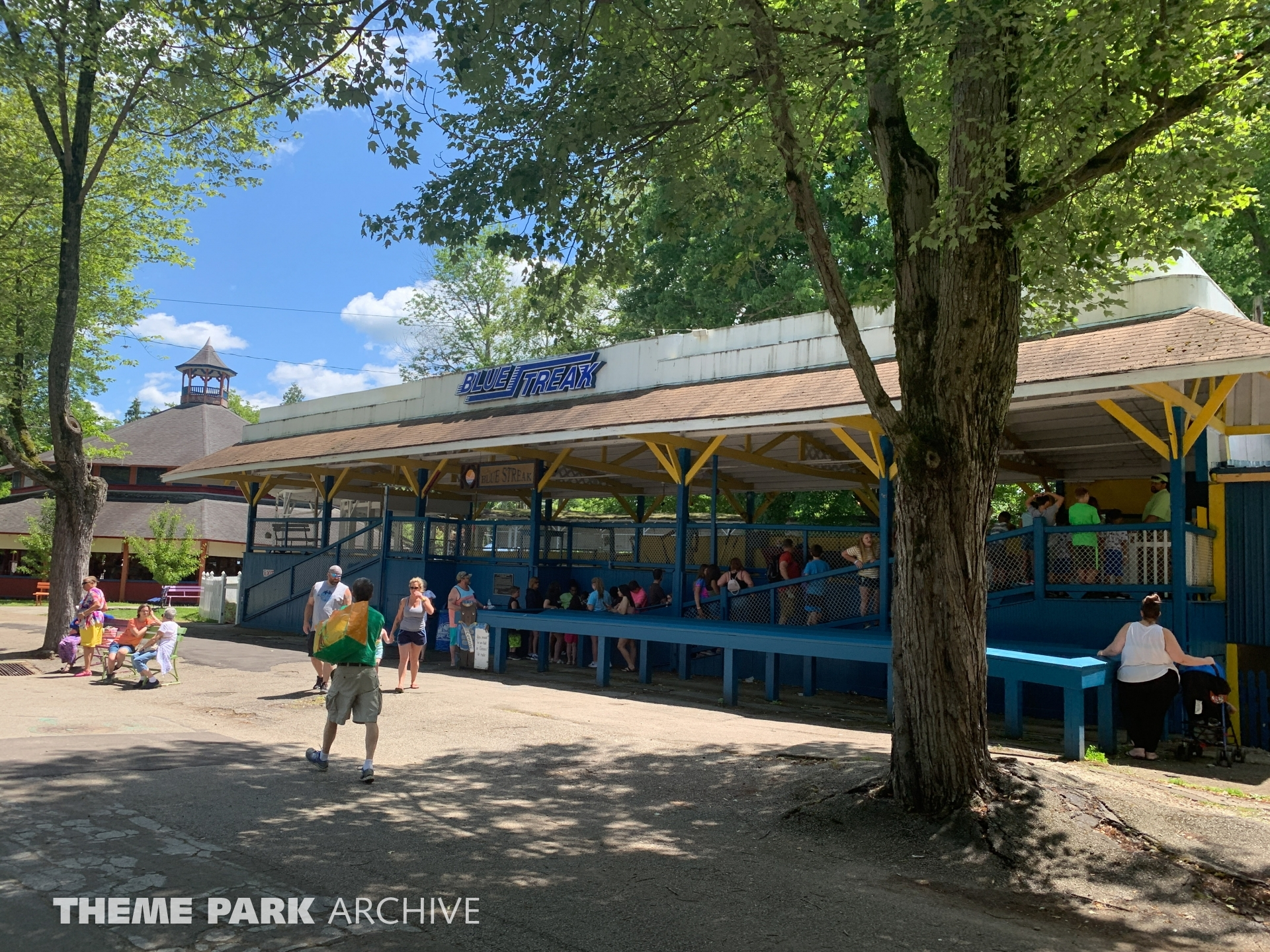 Blue Streak at Conneaut Lake Park