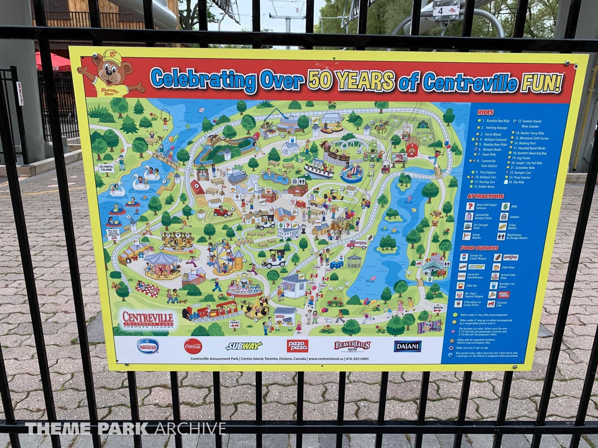 Misc at Centreville Amusement Park