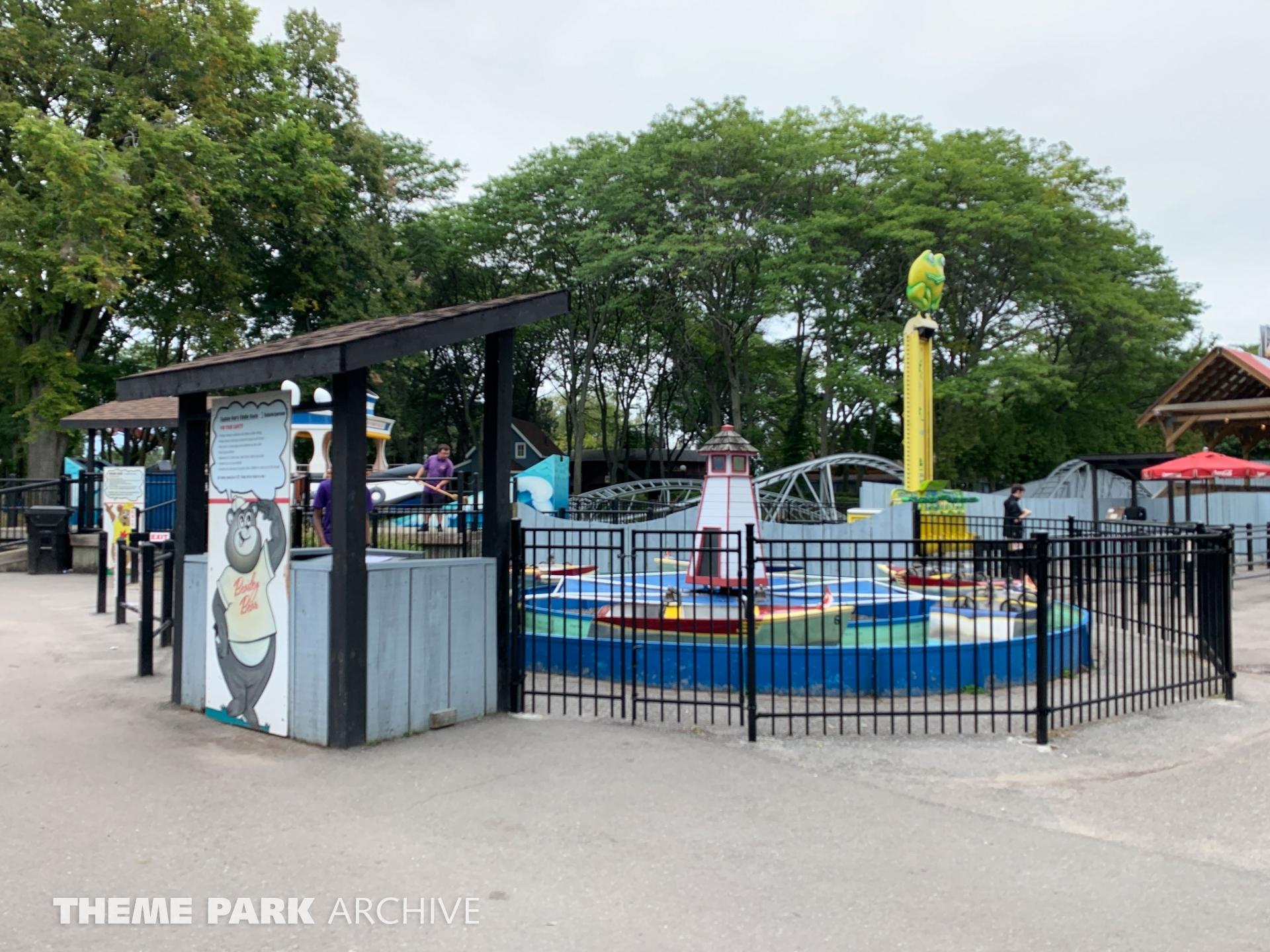 Kiddie Boat at Centreville Amusement Park
