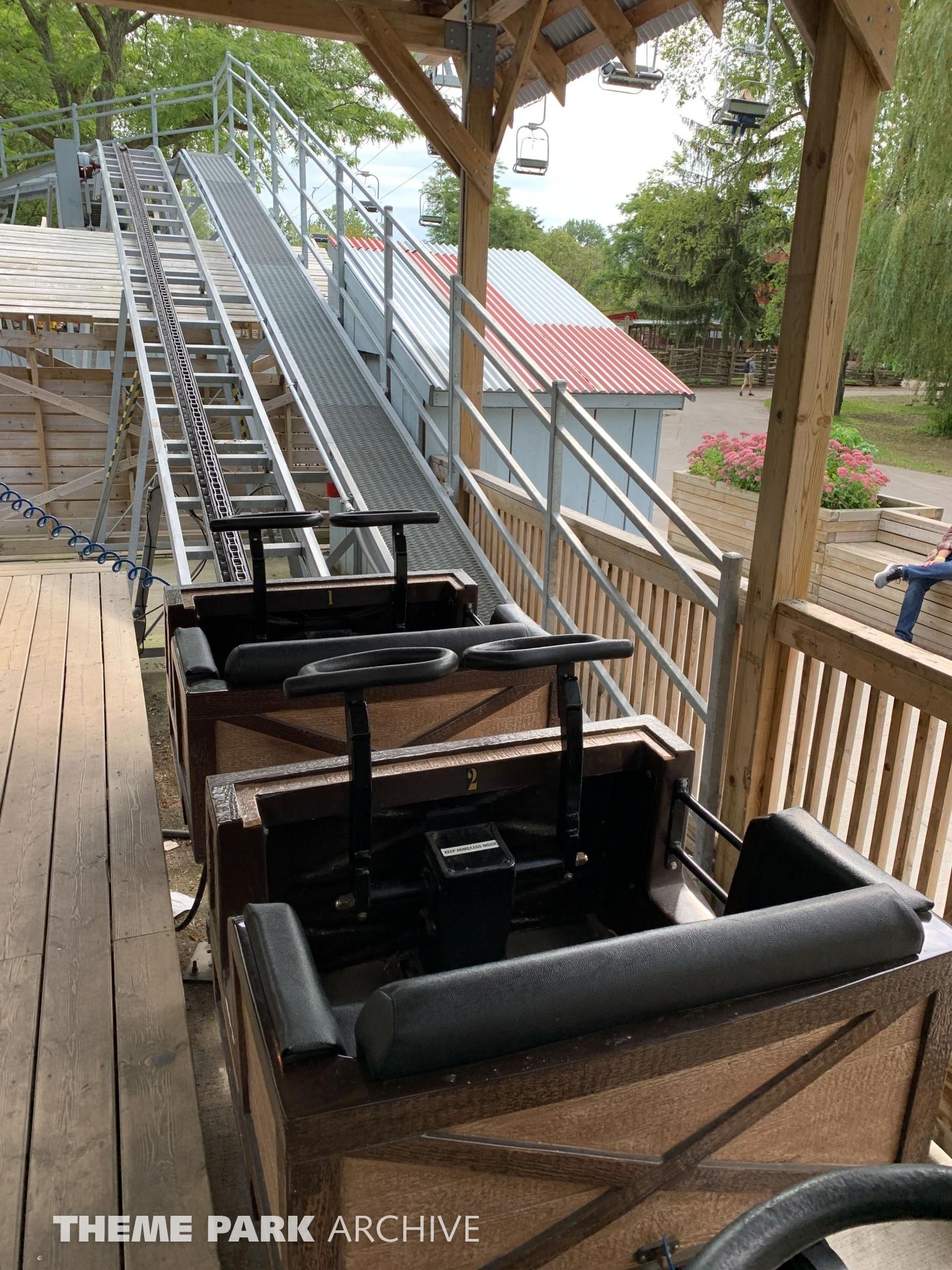 Toronto Island Mine Coaster at Centreville Amusement Park