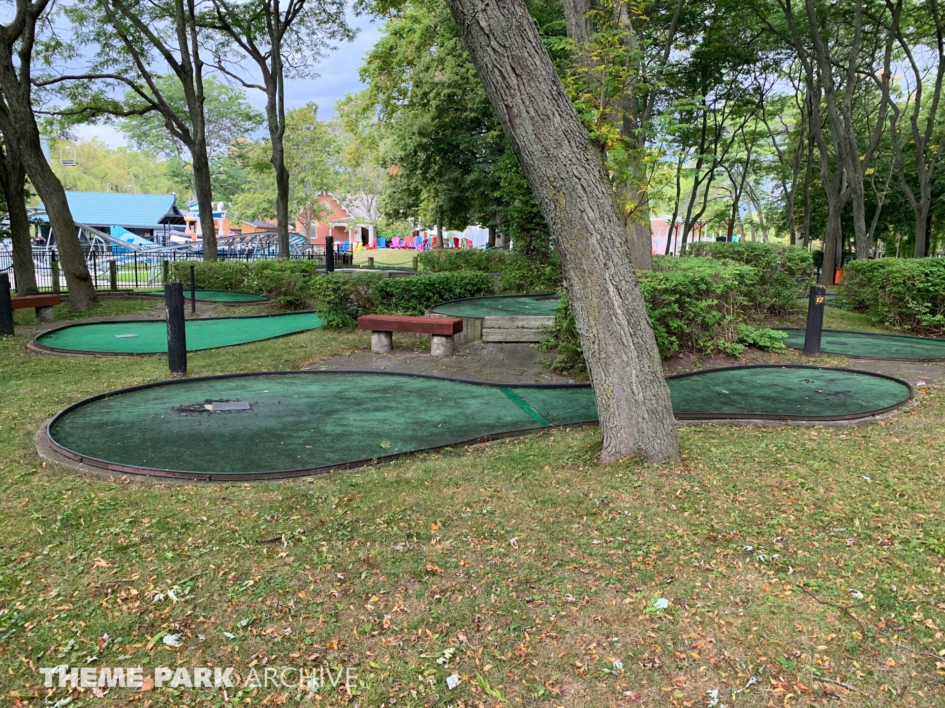 Miniature Golf at Centreville Amusement Park