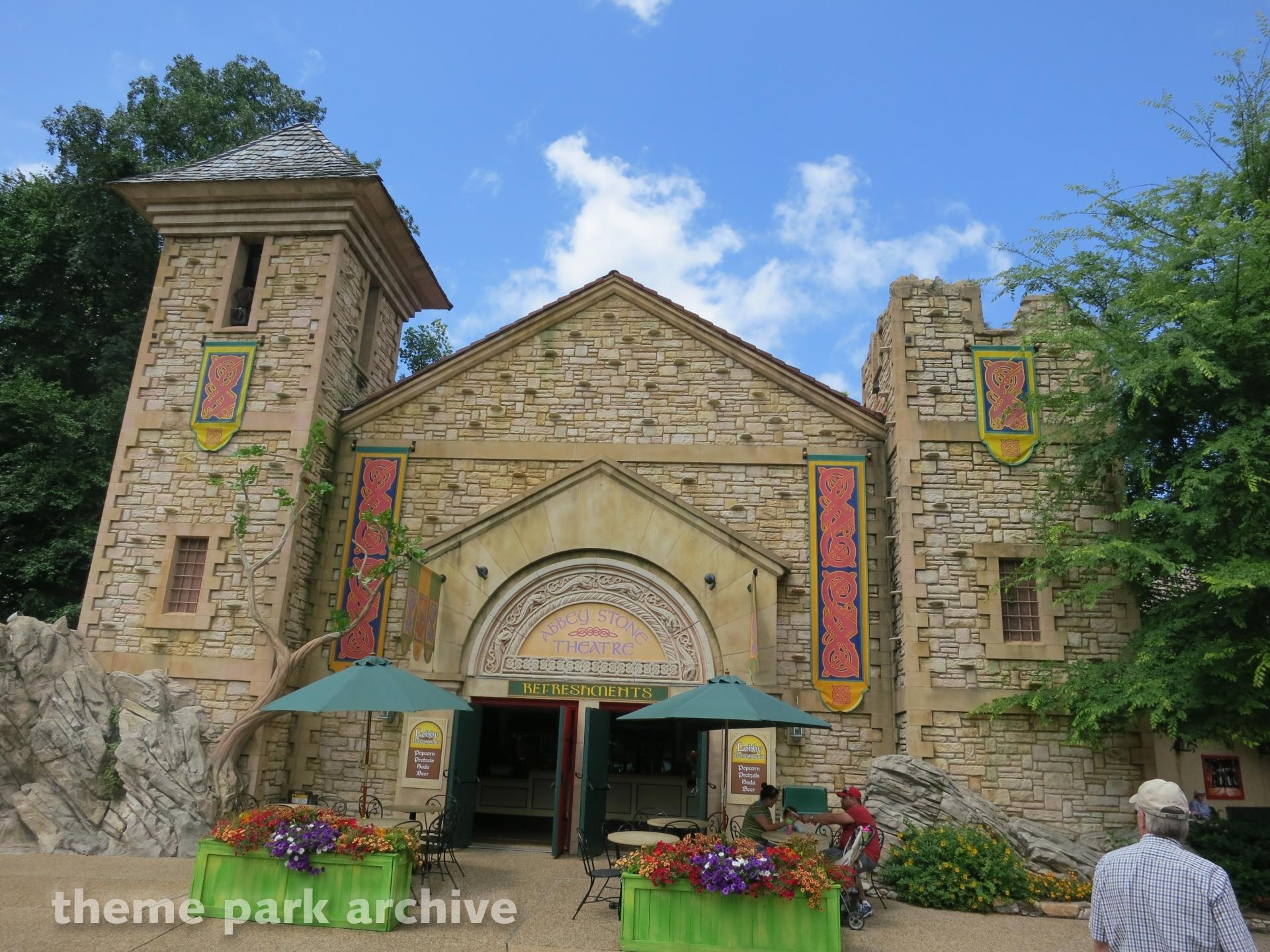 Abbey Stone Theatre at Busch Gardens Williamsburg