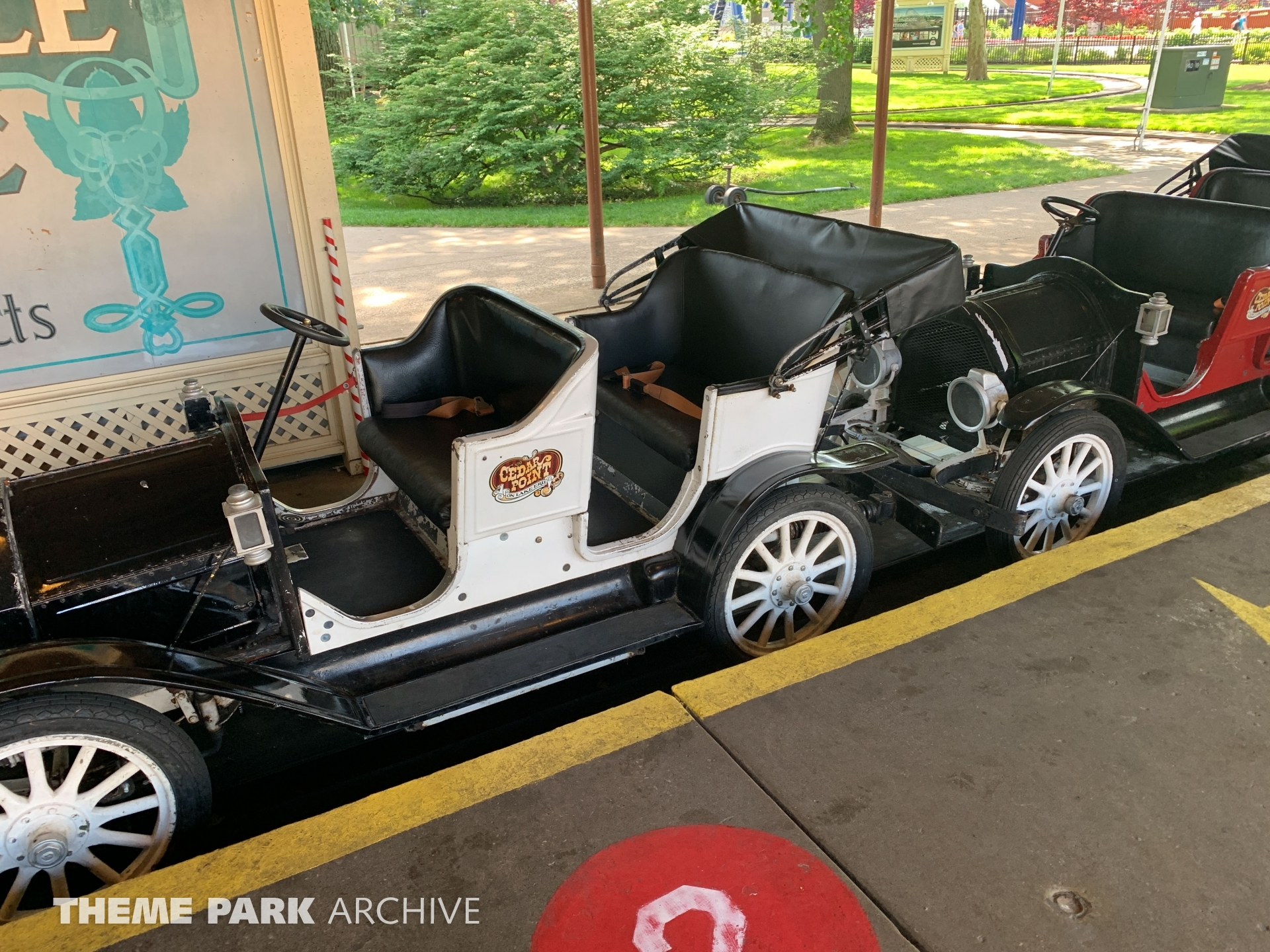 Cadillac Antique Cars at Cedar Point