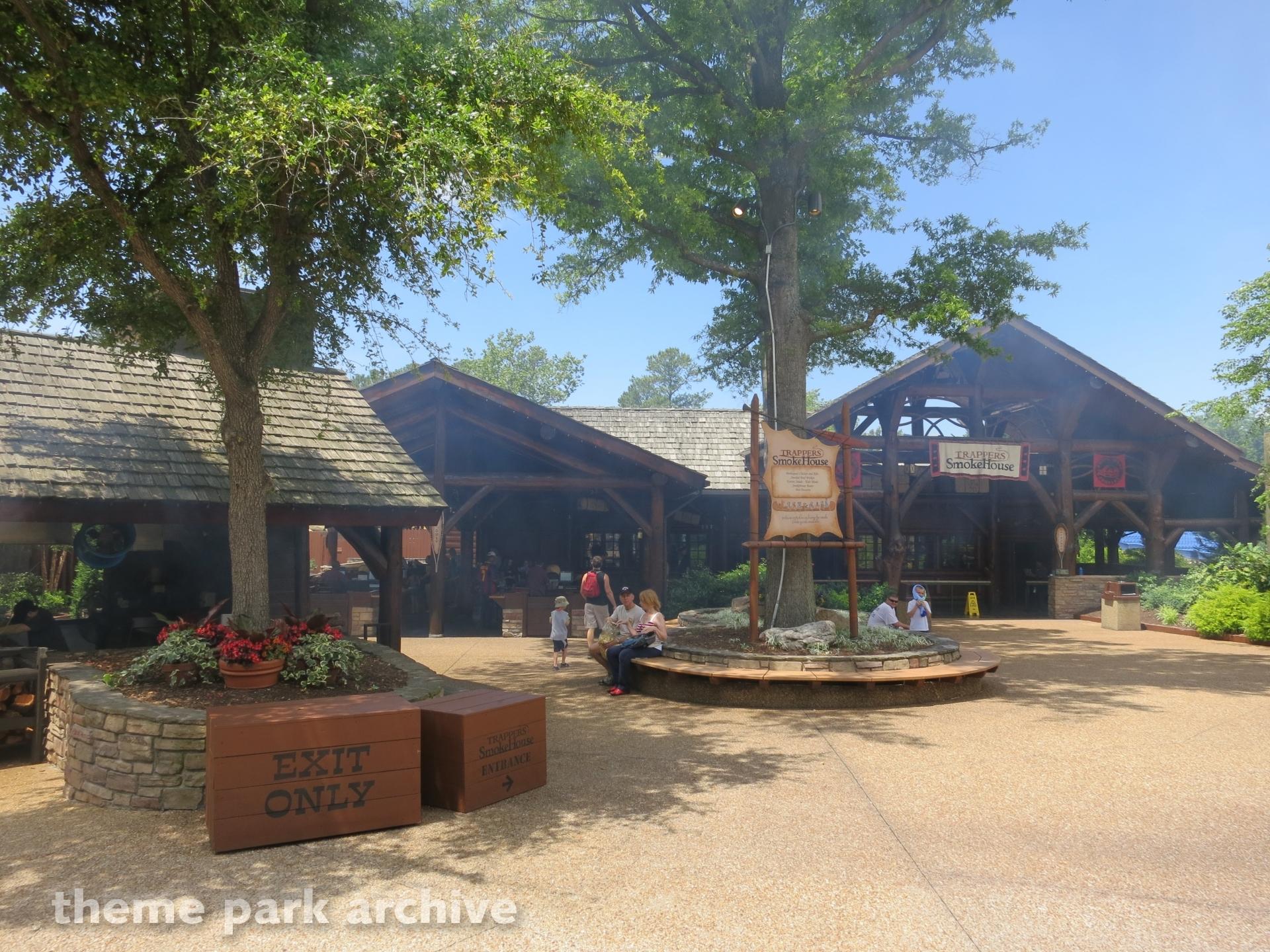 Trapper's Smokehouse at Busch Gardens Williamsburg