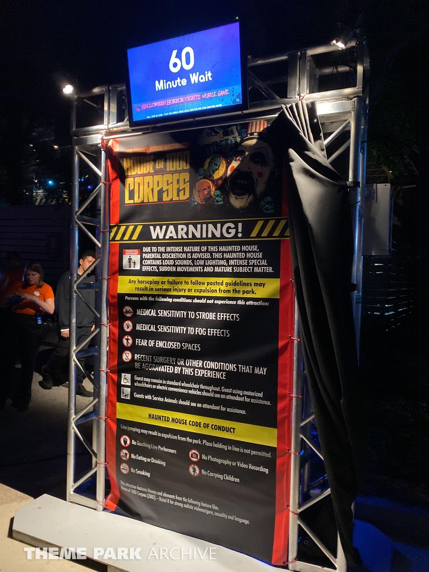 Halloween Horror Nights at Universal Studios Florida