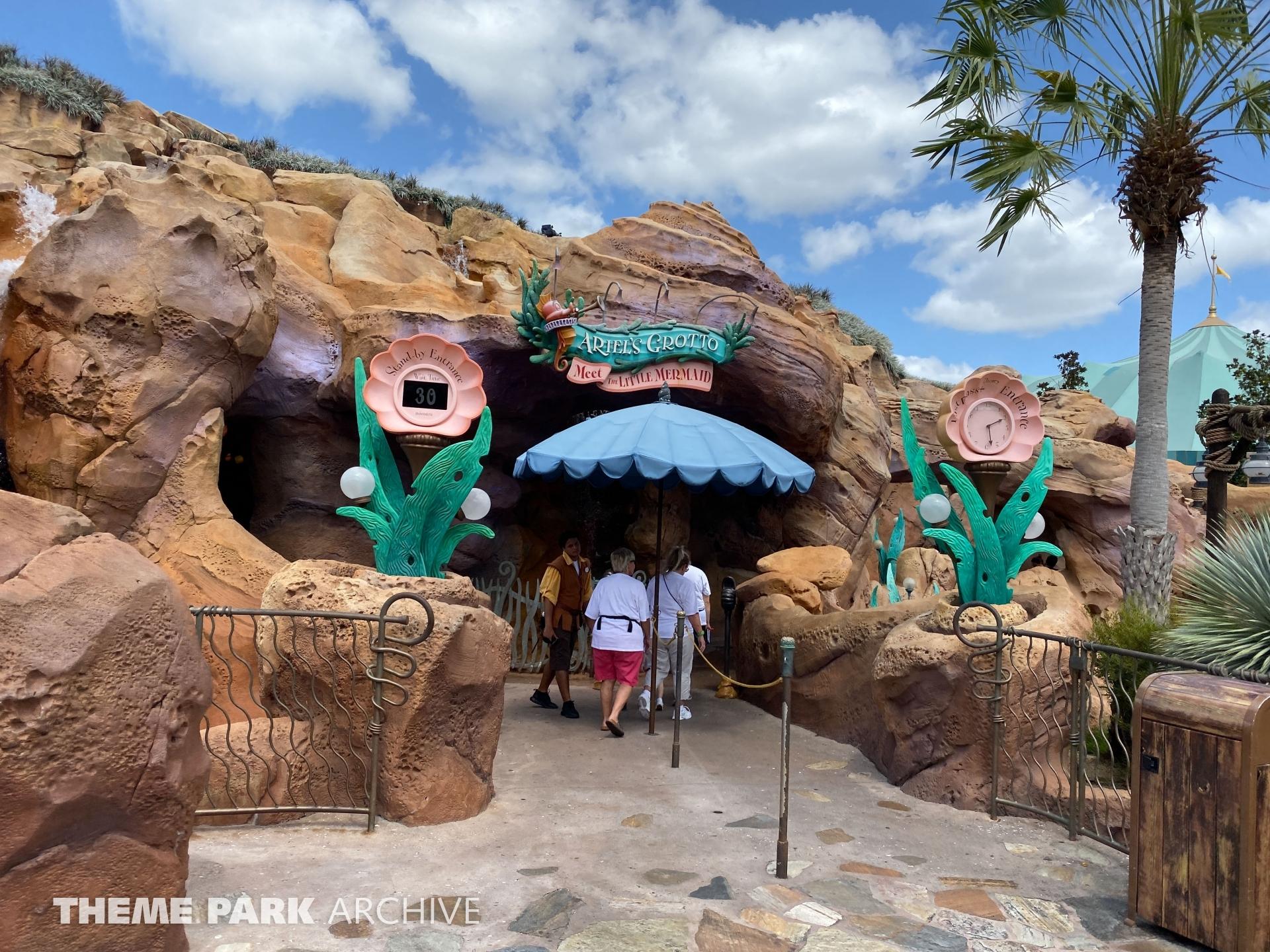 Ariel's Grotto at Magic Kingdom