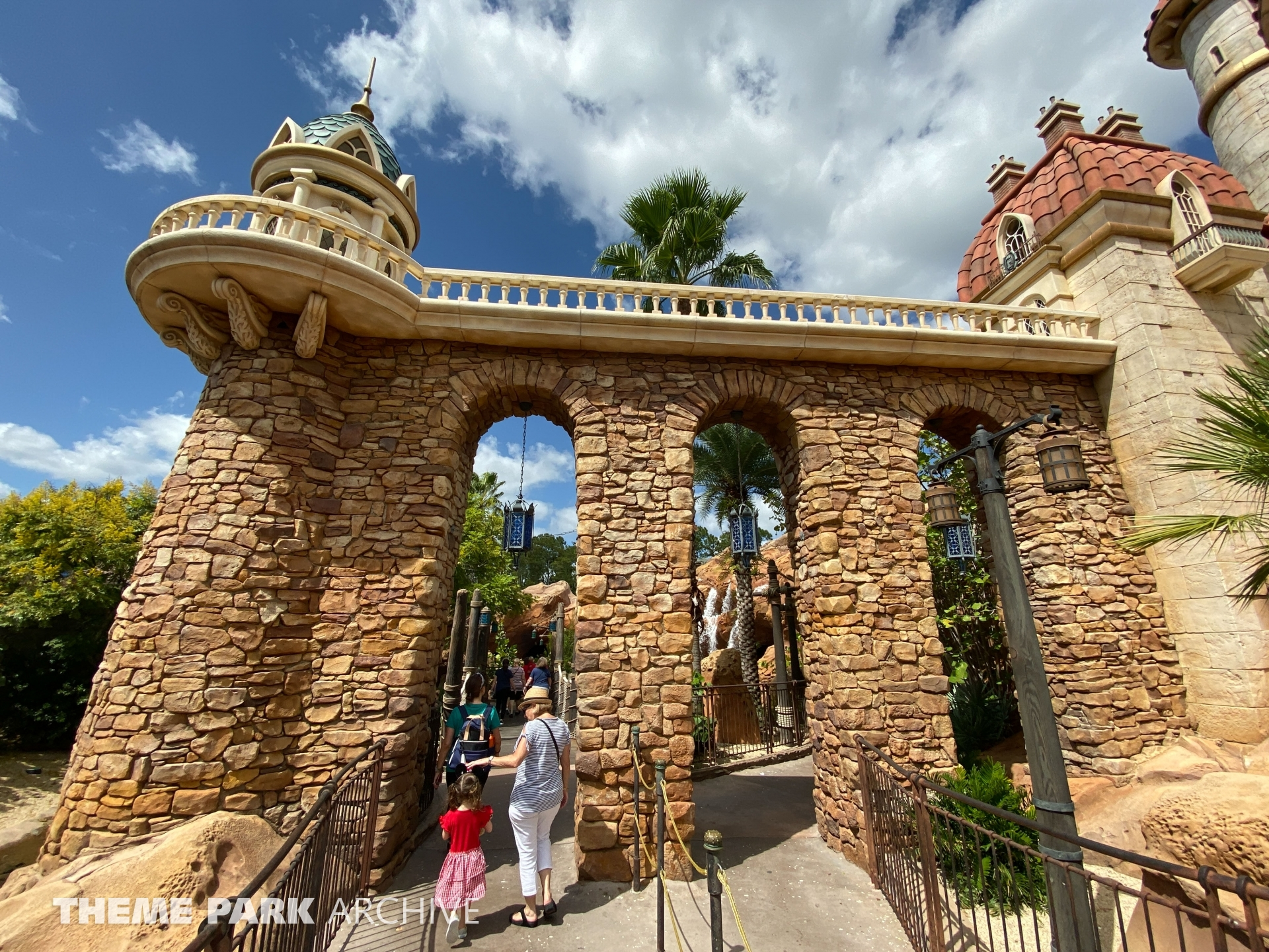 Journey of the Little Mermaid at Magic Kingdom