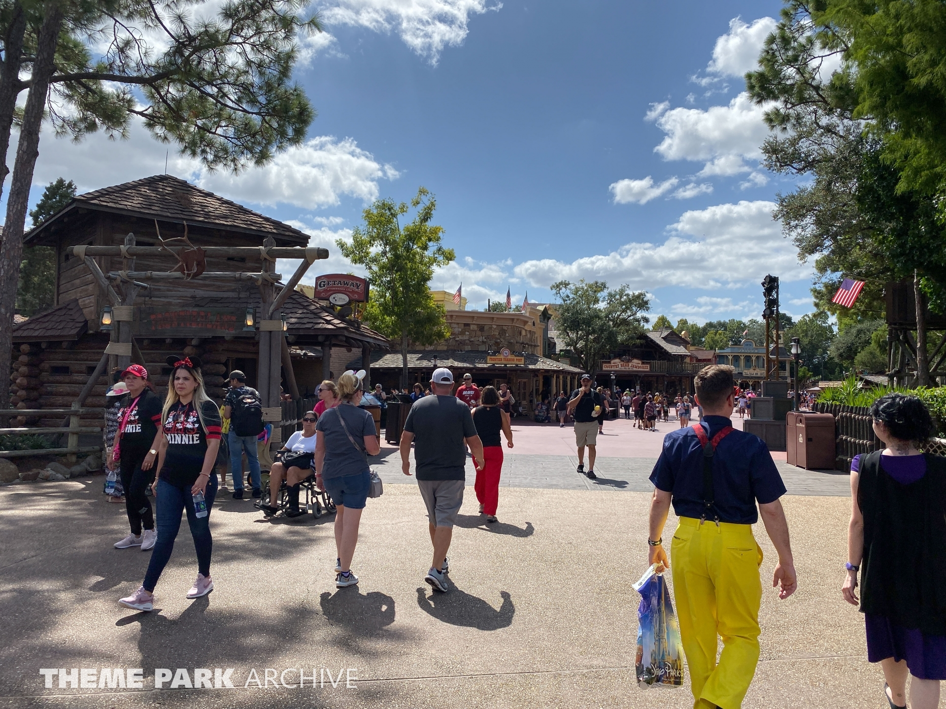 Frontierland at Magic Kingdom