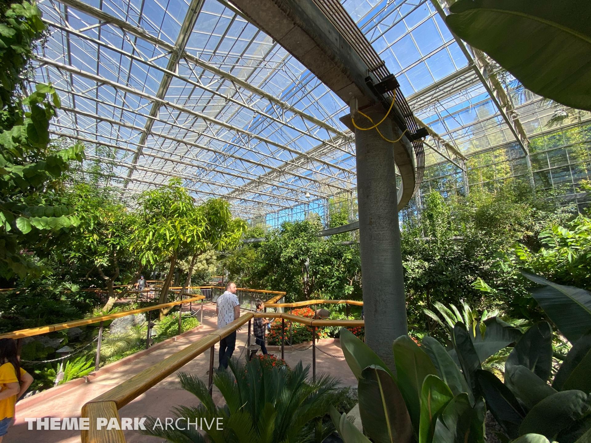Monarch Garden at Gilroy Gardens