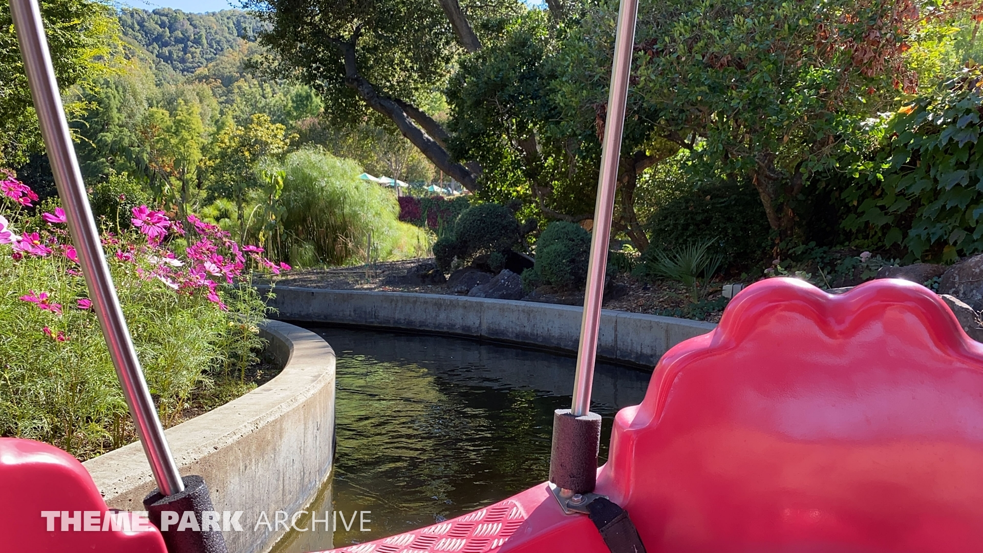 Rainbow Garden Round Boat Ride at Gilroy Gardens