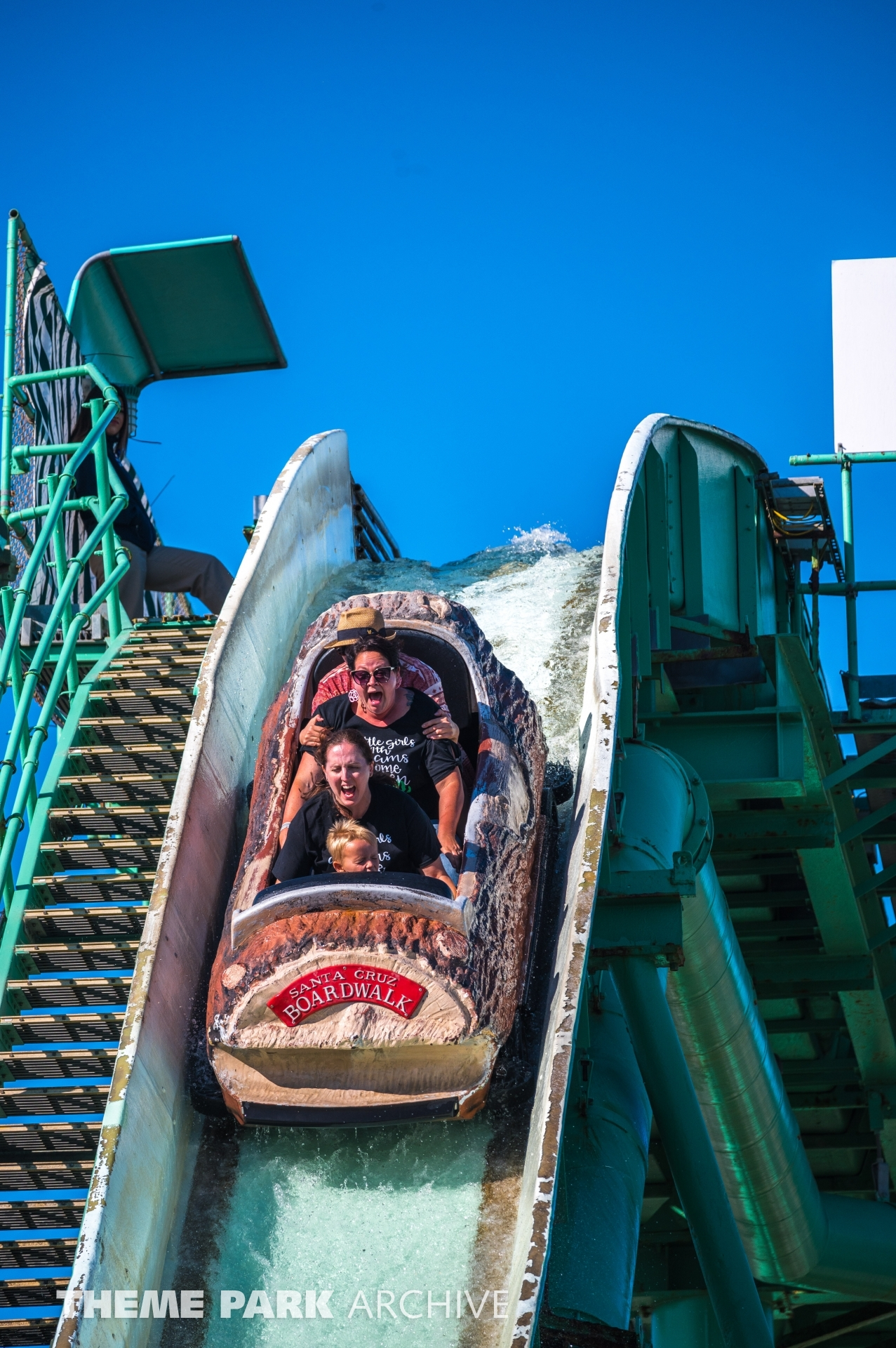 Logger's Revenge at Santa Cruz Beach Boardwalk