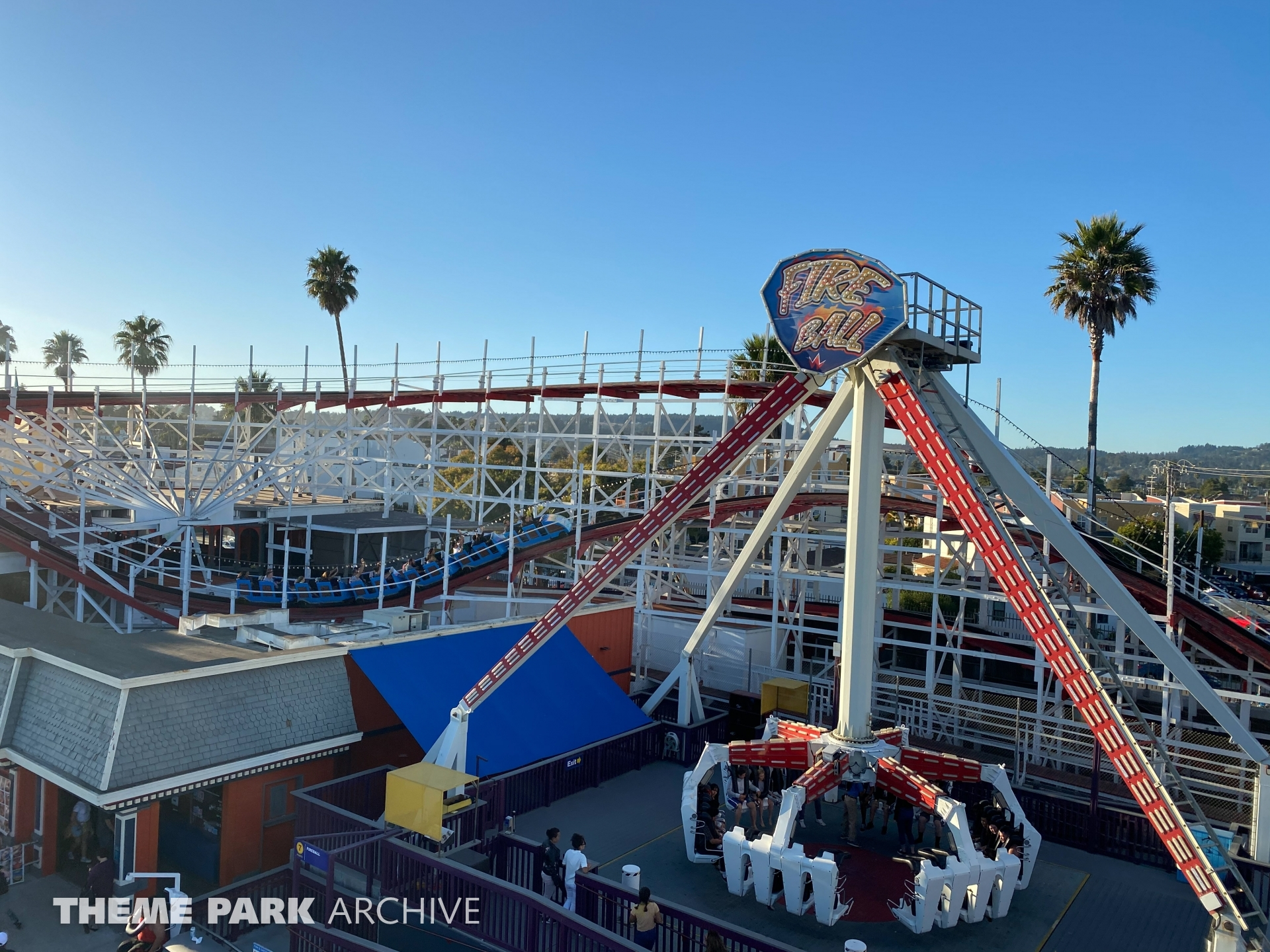 Fireball at Santa Cruz Beach Boardwalk