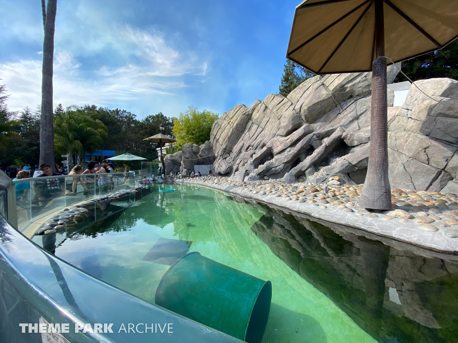 Penguin Passage at Six Flags Discovery Kingdom