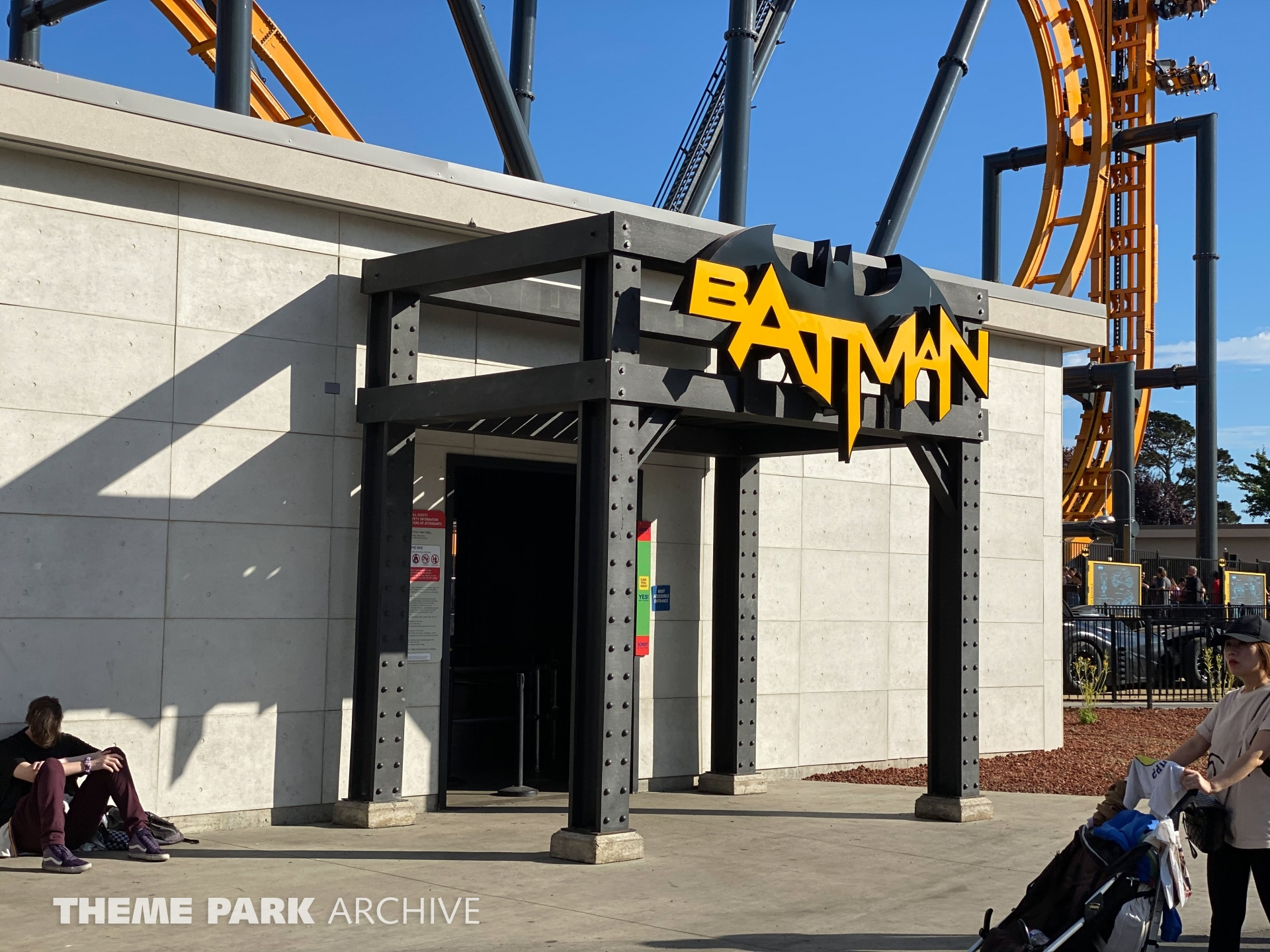 Batman The Ride at Six Flags Discovery Kingdom