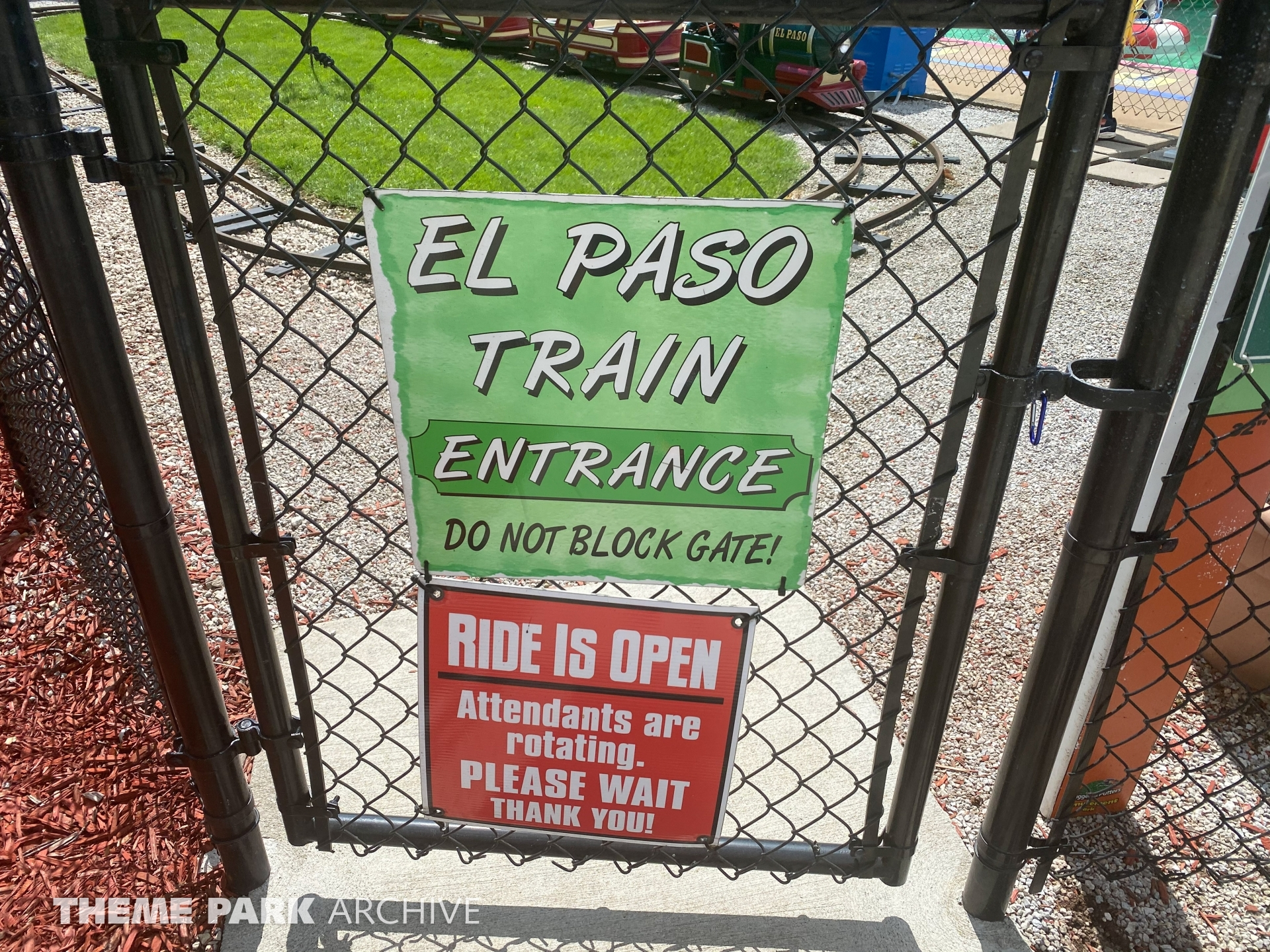 El Paso Railroad at Sluggers & Putters Amusement Park