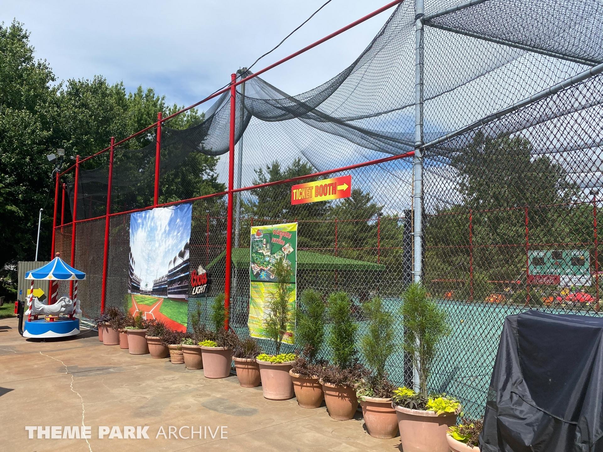 Batting Cages at Sluggers & Putters Amusement Park