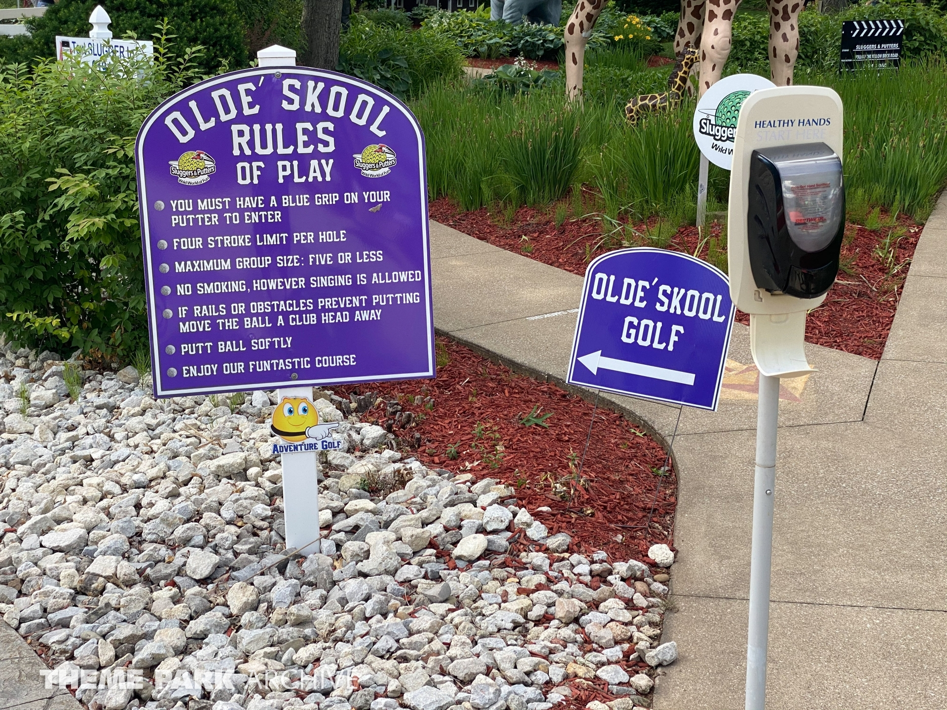 Olde Skool Golf at Sluggers & Putters Amusement Park