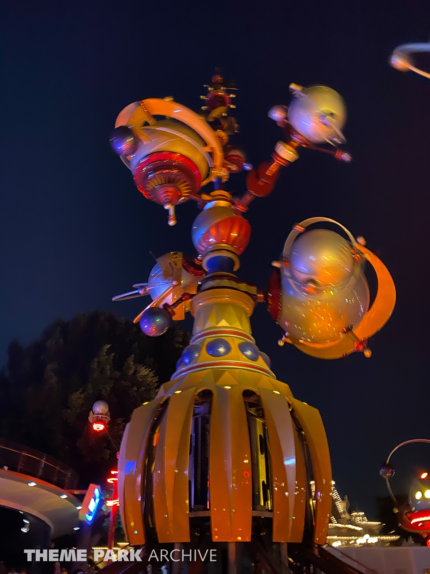 Astro Orbiter at Disneyland