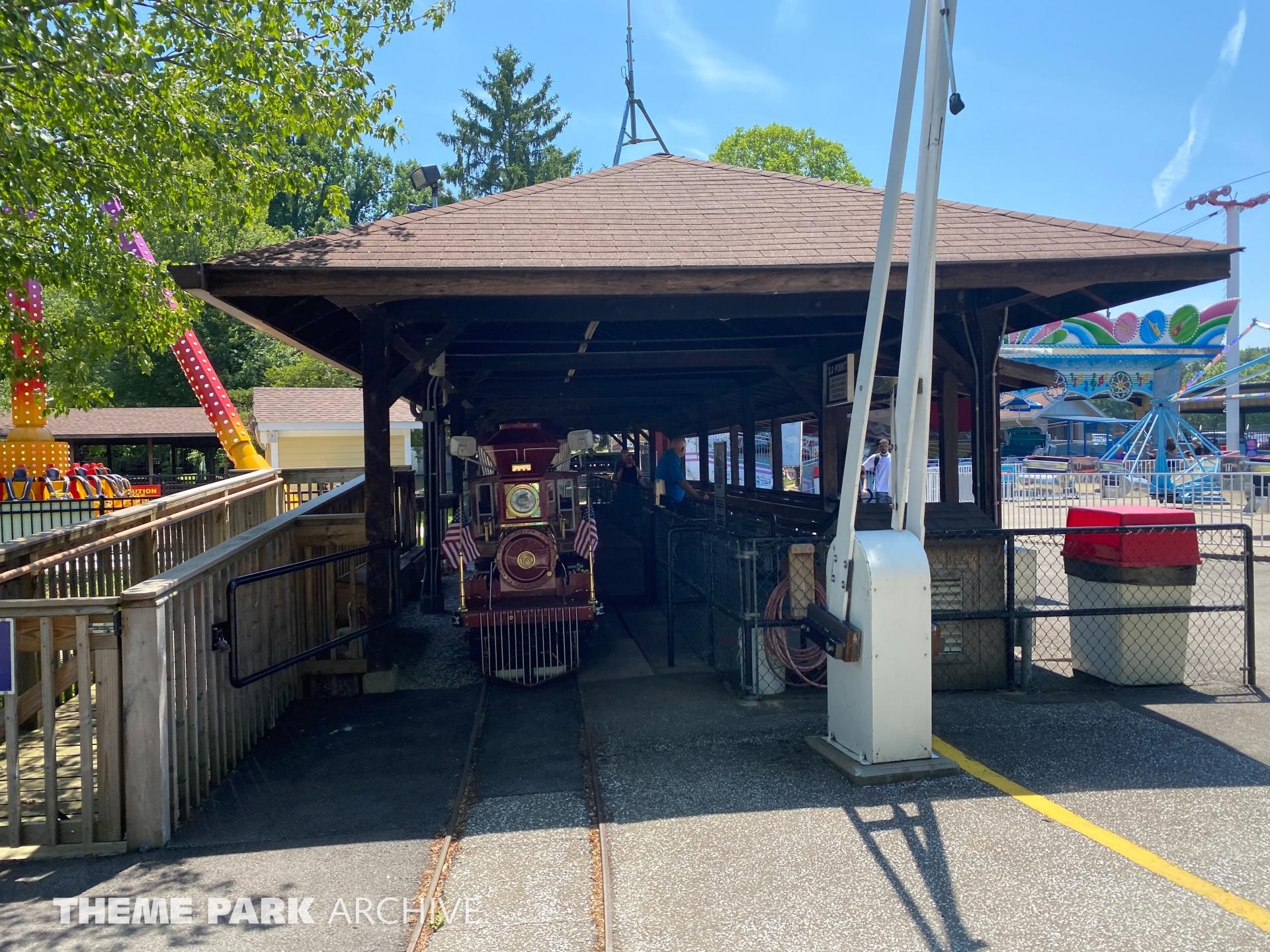 L. Ruth Express at Waldameer Park