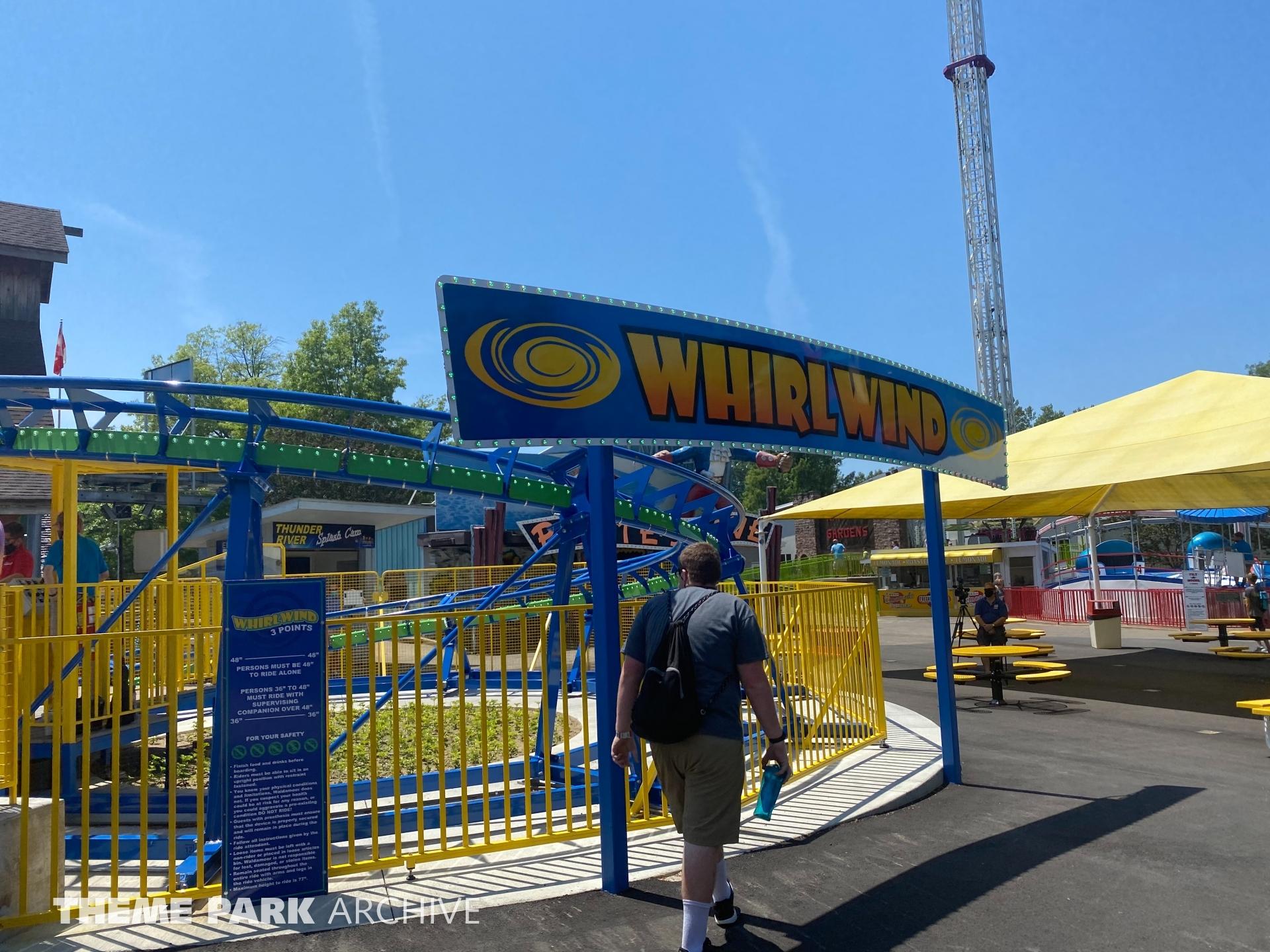 Whirlwind at Waldameer Park