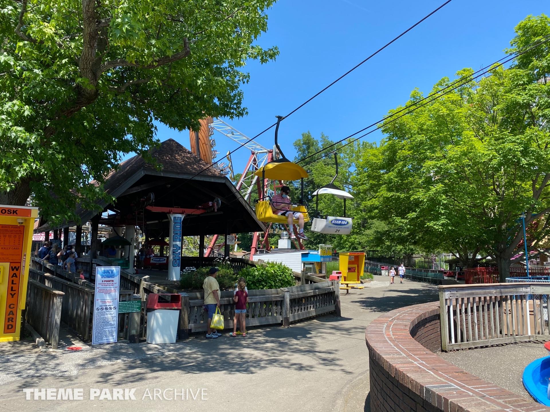 Sky Ride at Waldameer Park