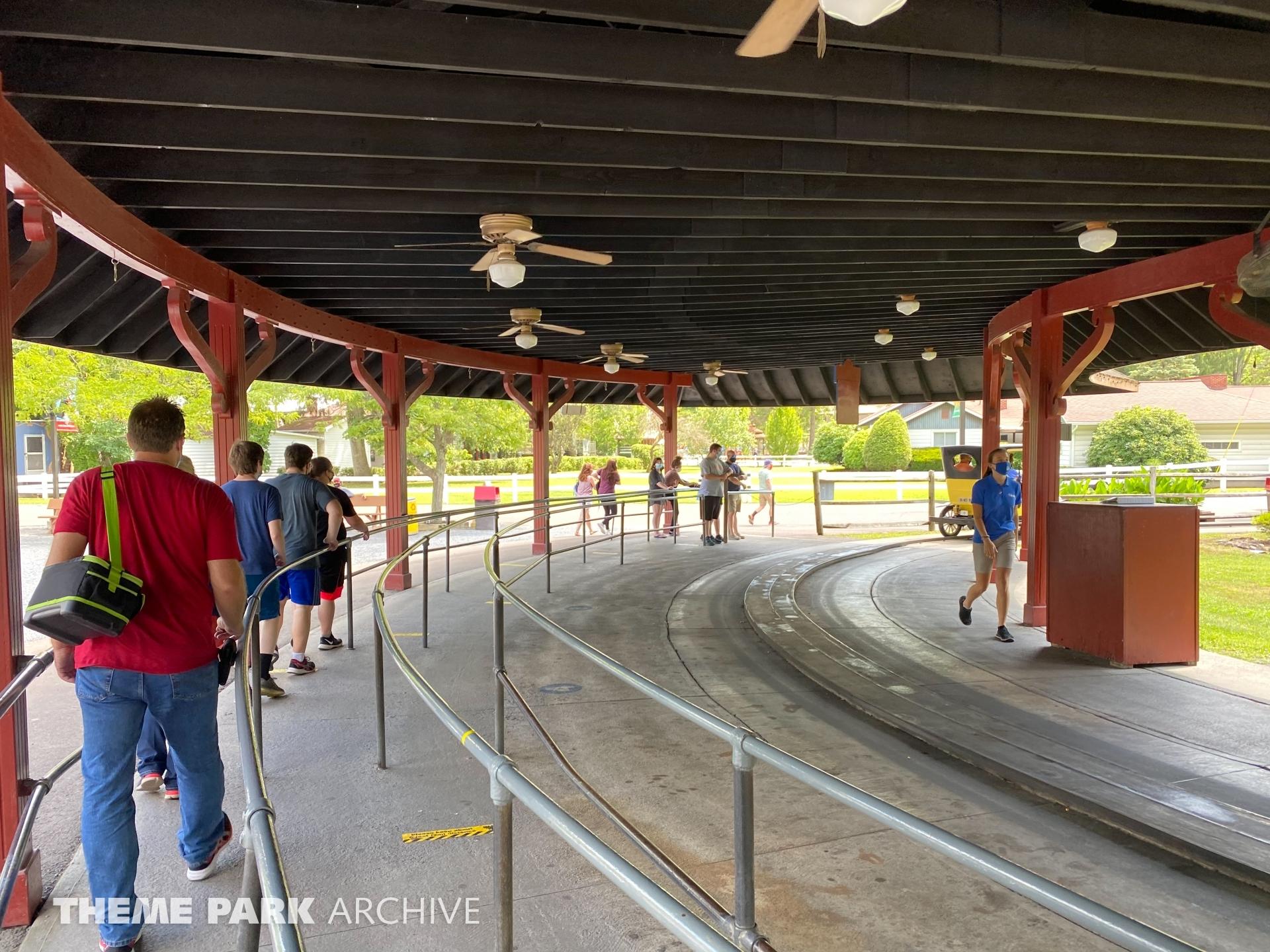 Gasoline Alley at Knoebels Amusement Resort