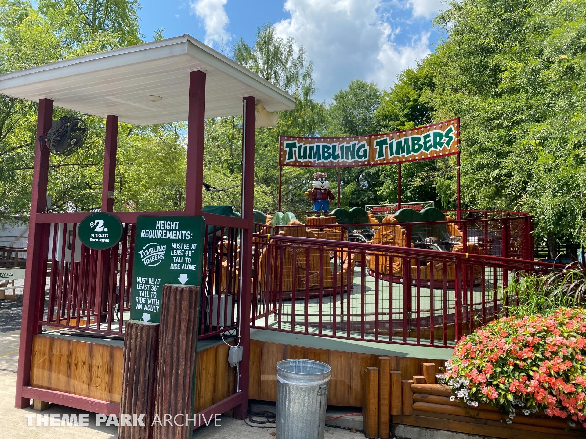 Tumbling Tumblers at Knoebels Amusement Resort