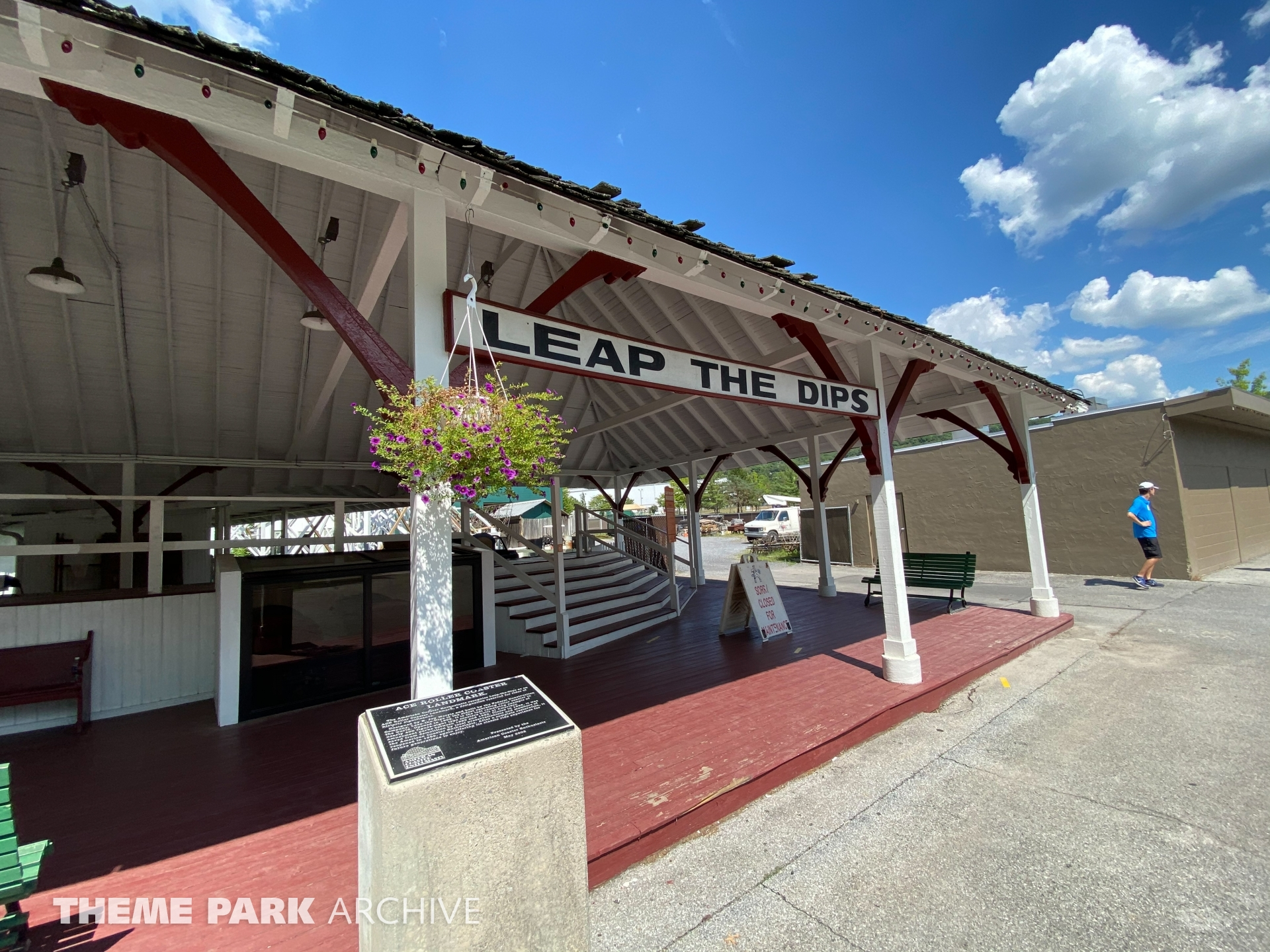 Leap the Dips at Lakemont Park