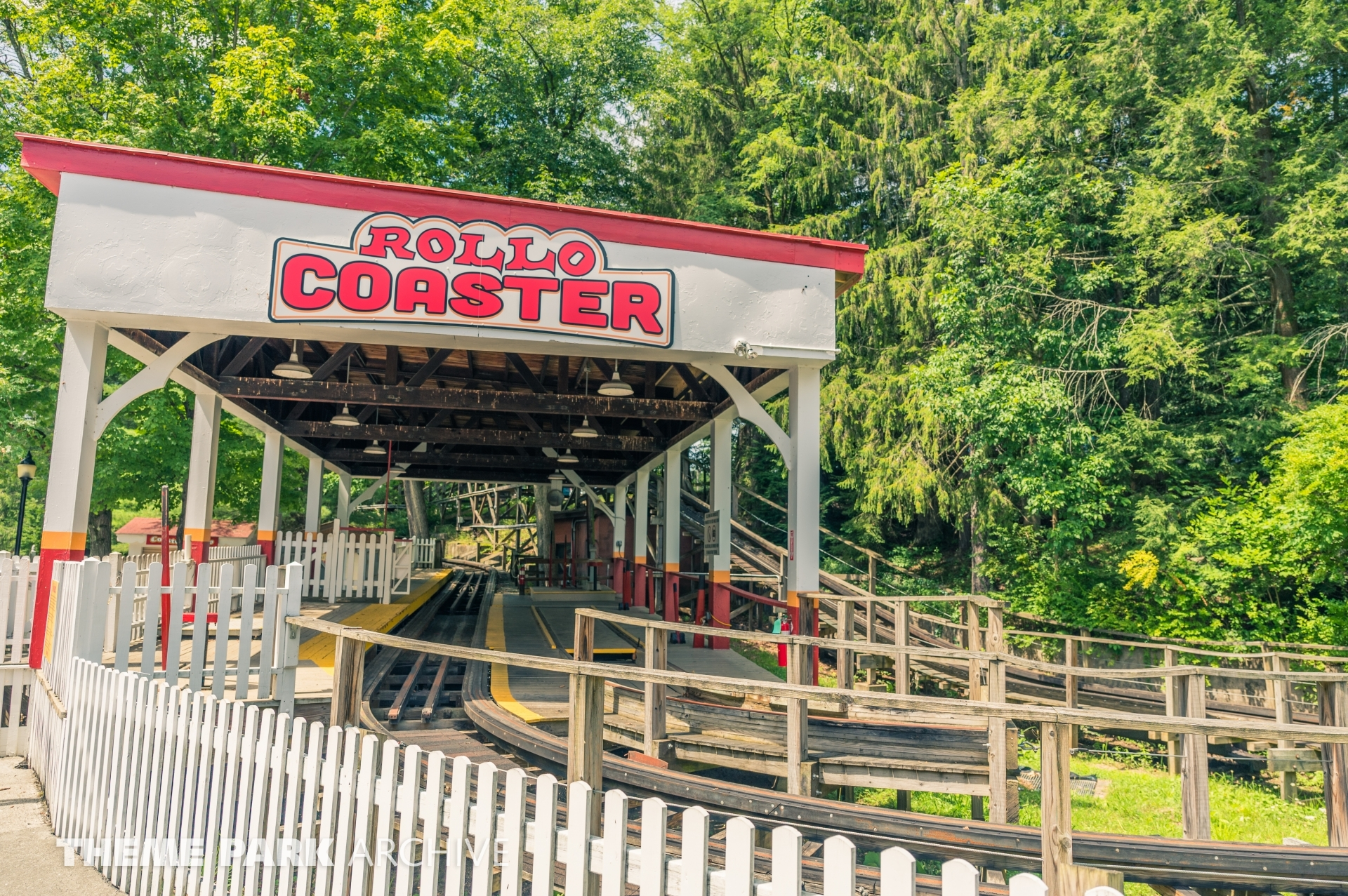 Rollo Coaster at Idlewild and SoakZone