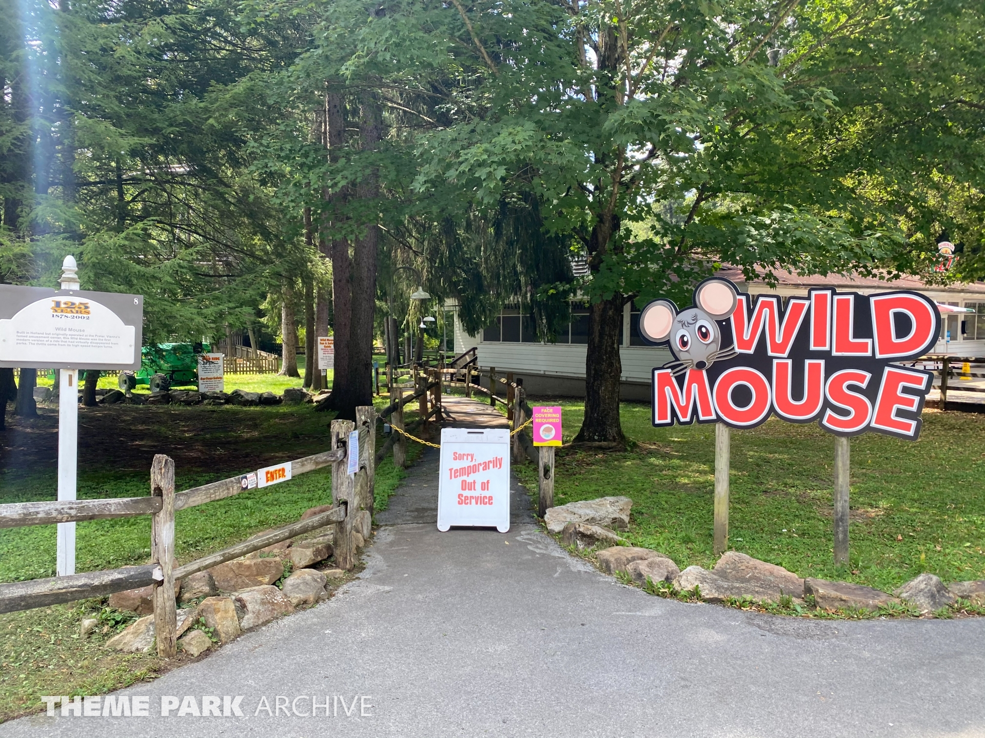Wild Mouse at Idlewild and SoakZone