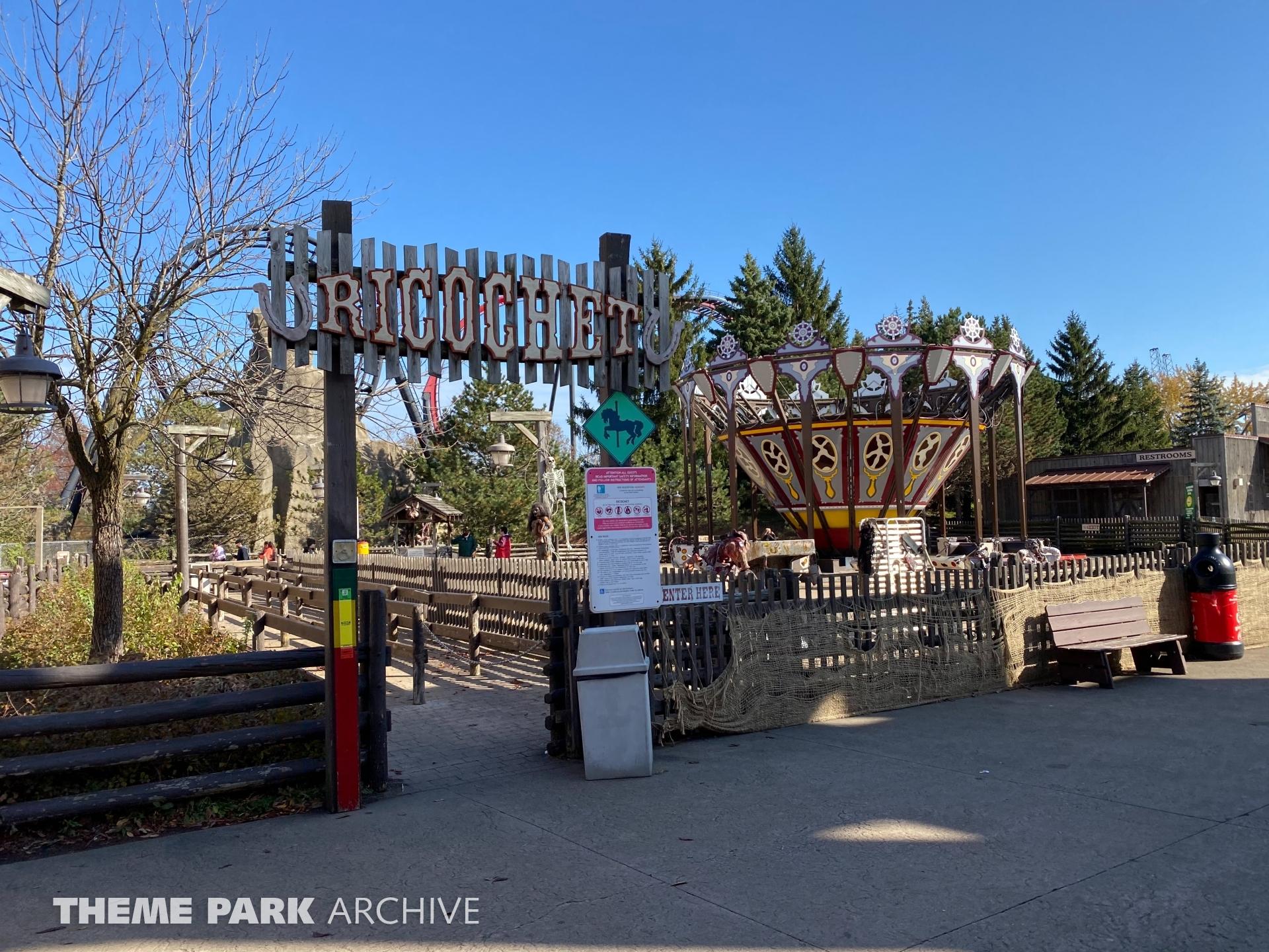 Ricochet at Six Flags Great America