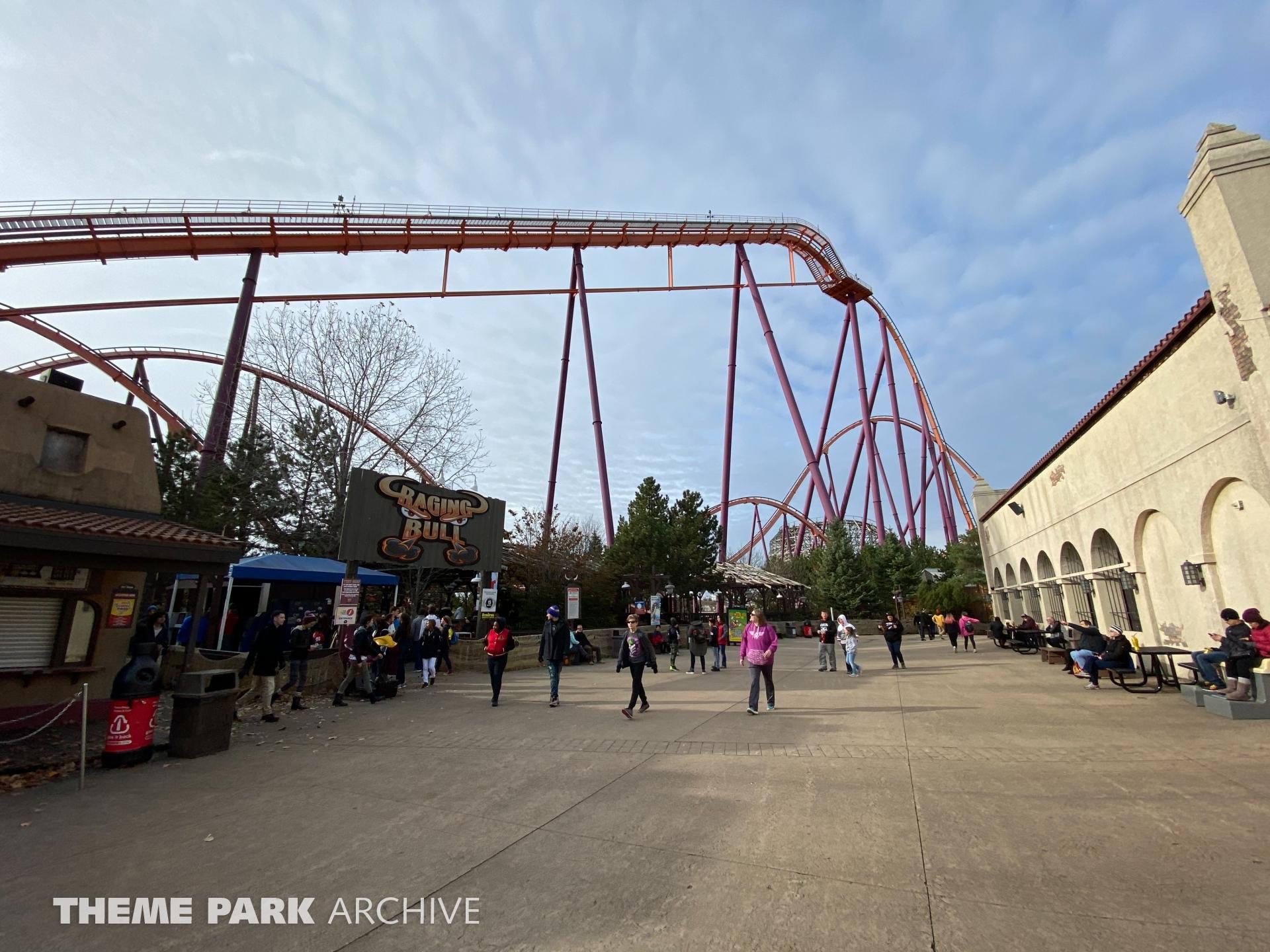 Raging Bull at Six Flags Great America