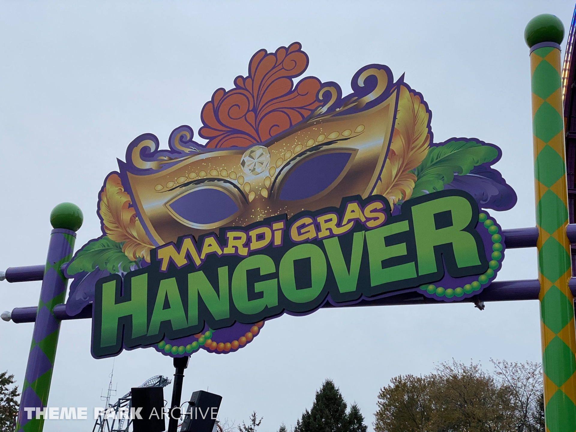 Mardi Gras Hangover at Six Flags Great America