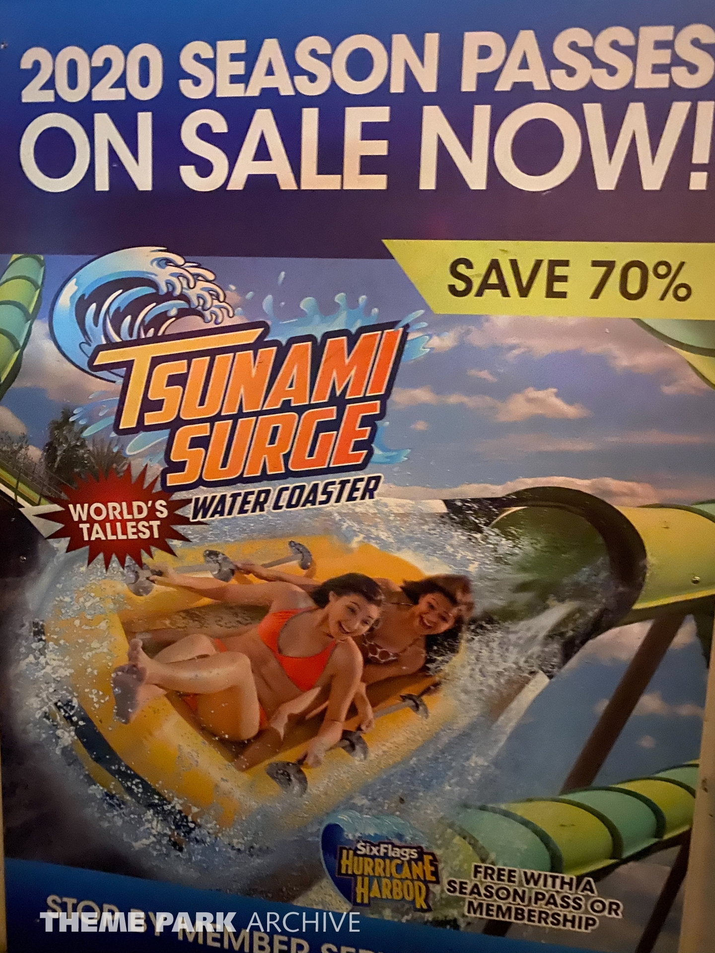 Tsunami Surge at Six Flags Great America