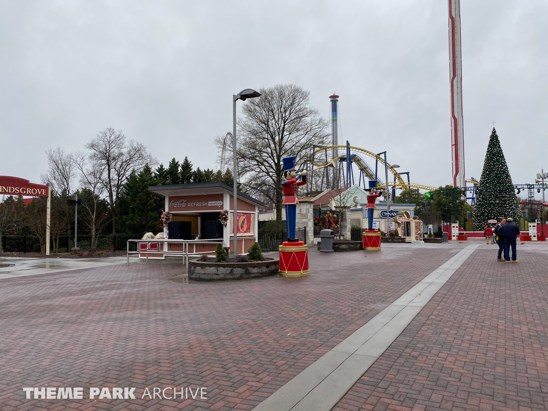 Celebration Plaza at Carowinds