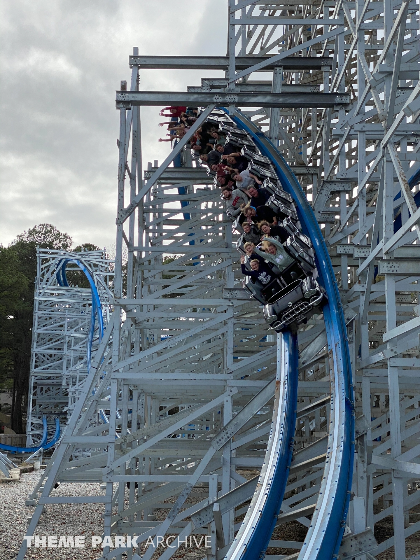 Twisted Cyclone at Six Flags Over Georgia