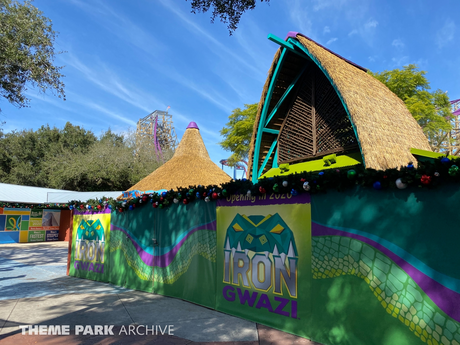 Iron Gwazi at Busch Gardens Tampa
